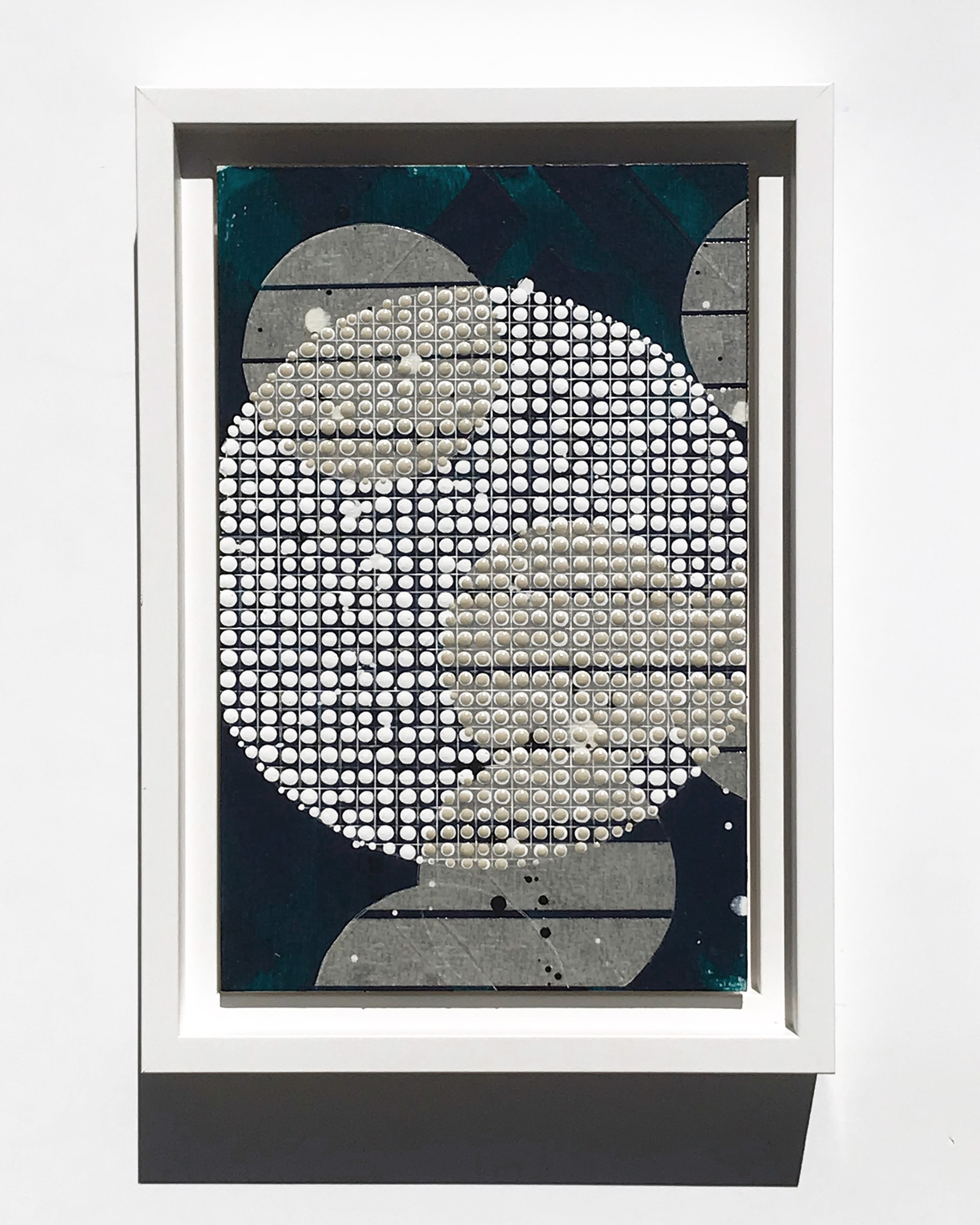 Lantern, White + Buff, Study No.81 by Nina Tichava