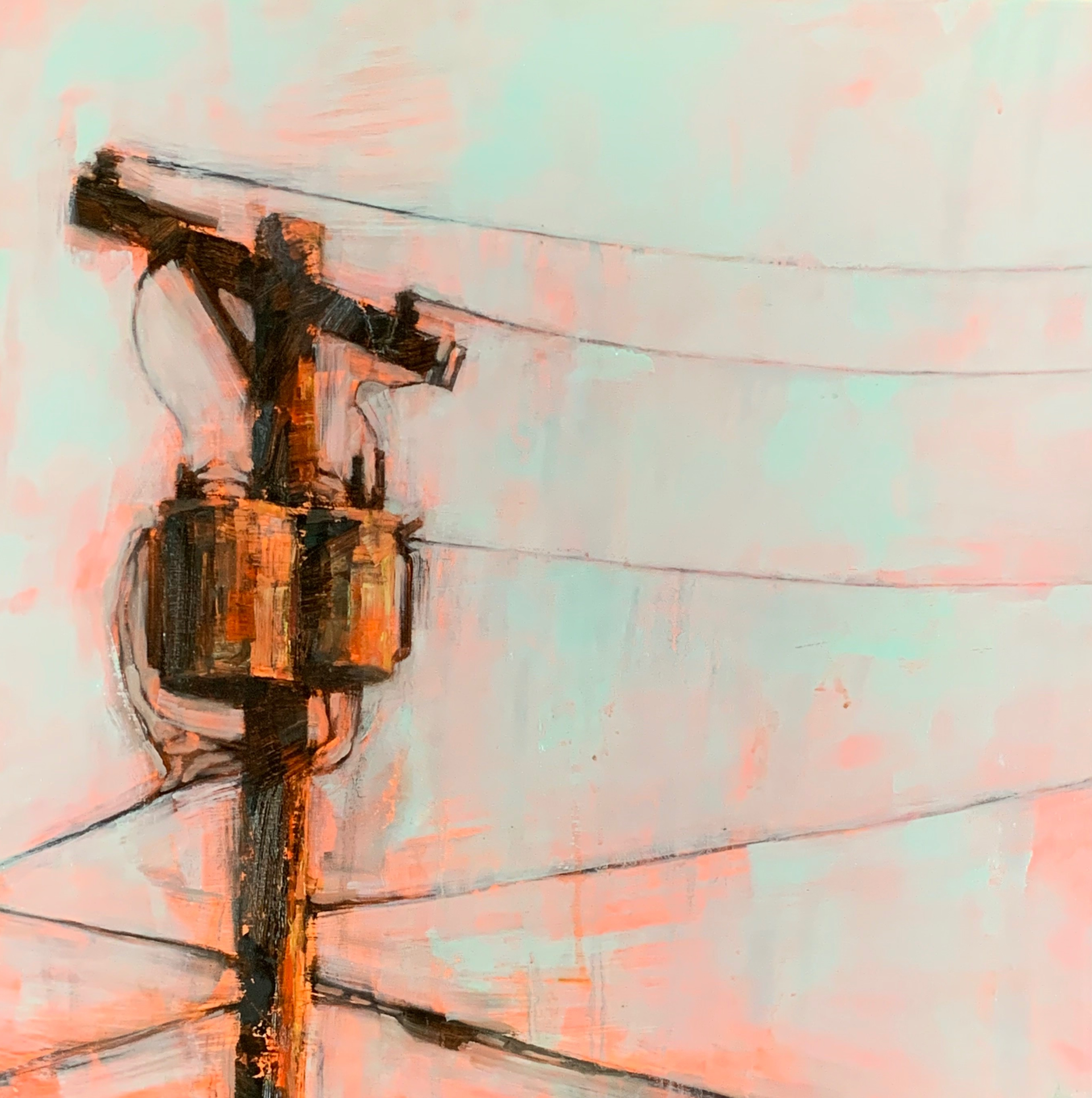 wires 2 by Angie Renfro