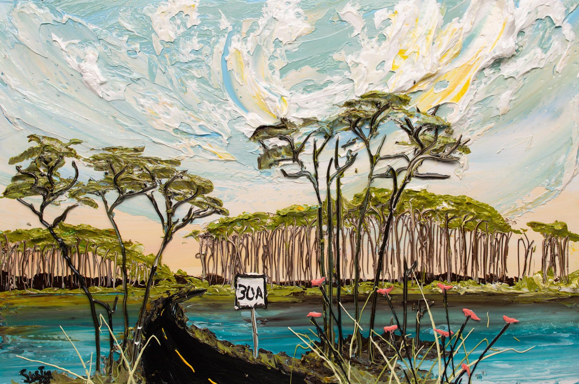 LAKESCAPE LS-36x24-2019-245 by JUSTIN GAFFREY
