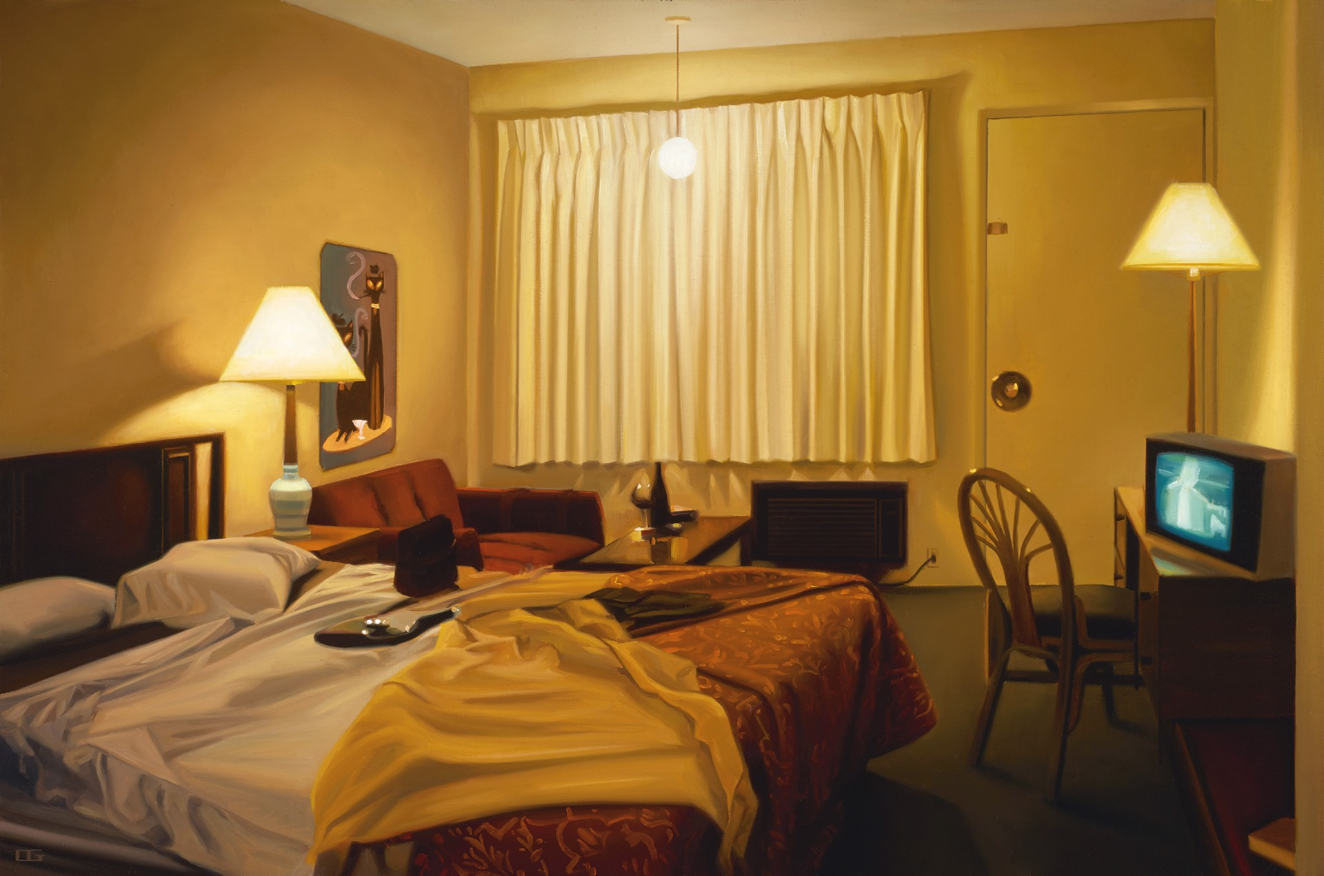 The Astro Motel (S/N) by Carrie Graber