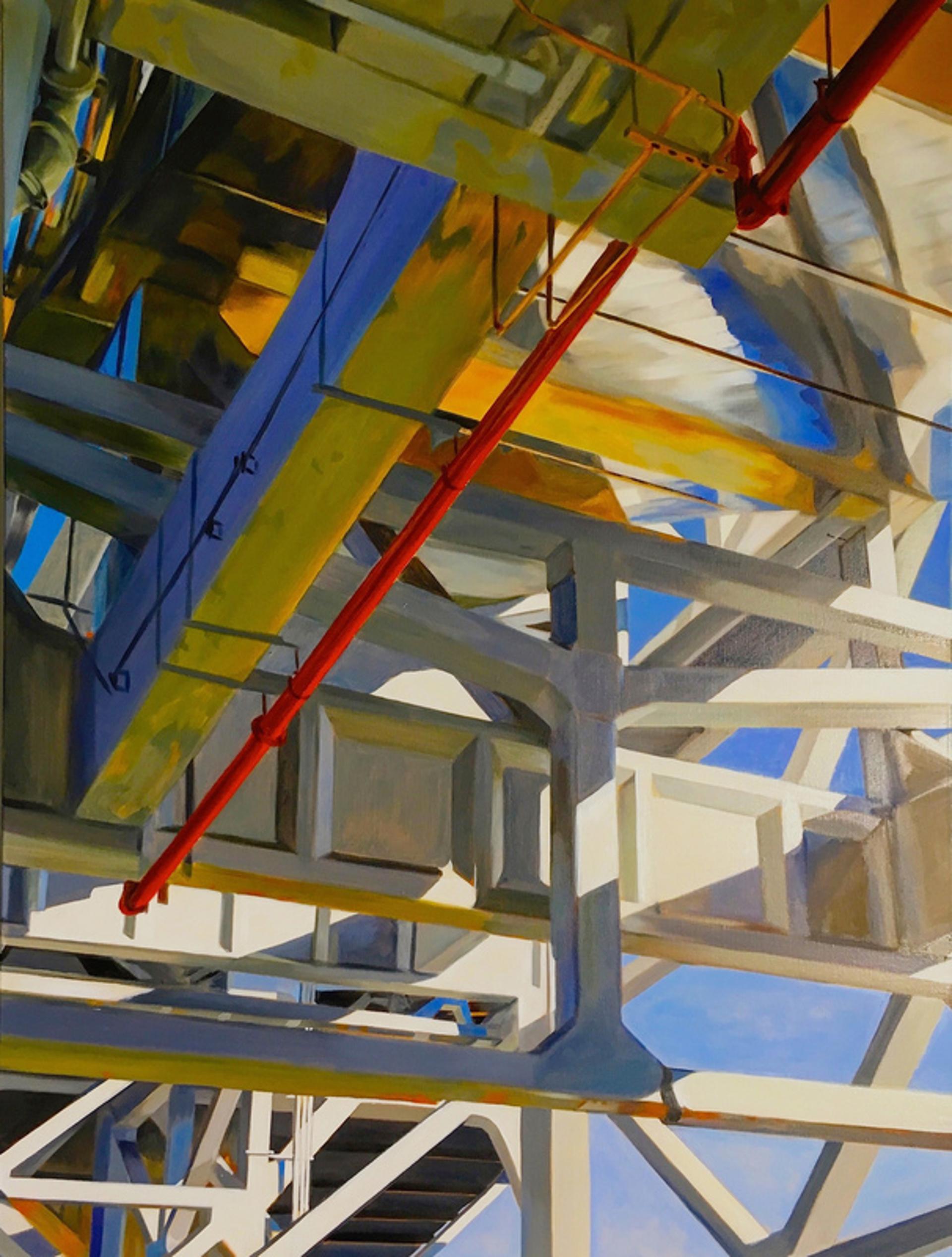 Red Pipe by Allan Gorman