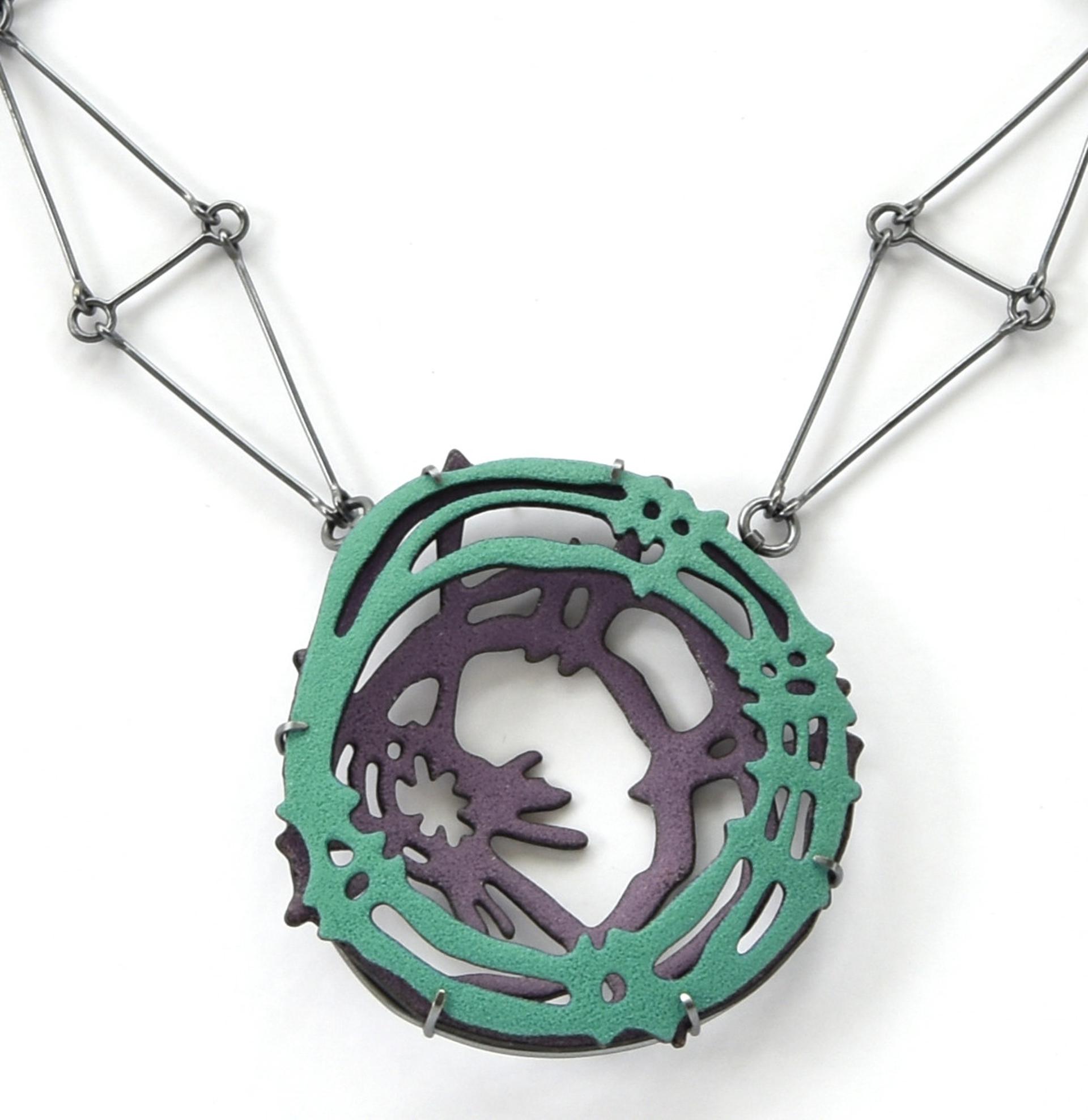 Double Nest Necklace by Joanna Nealey