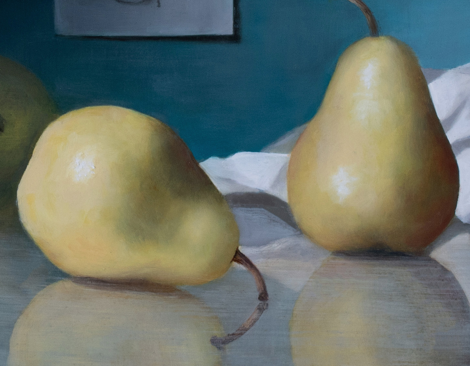 Posing Pears by Kelly Birkenruth