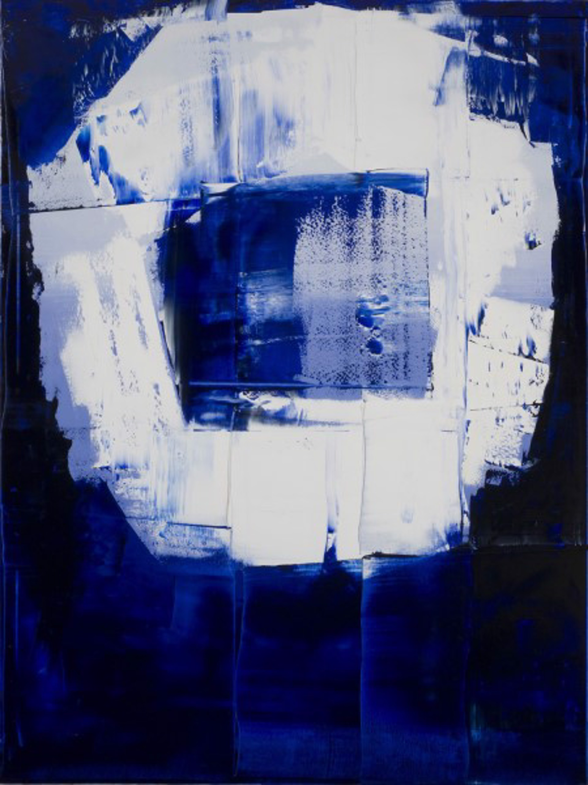 Blue-White No. 3 by William Song