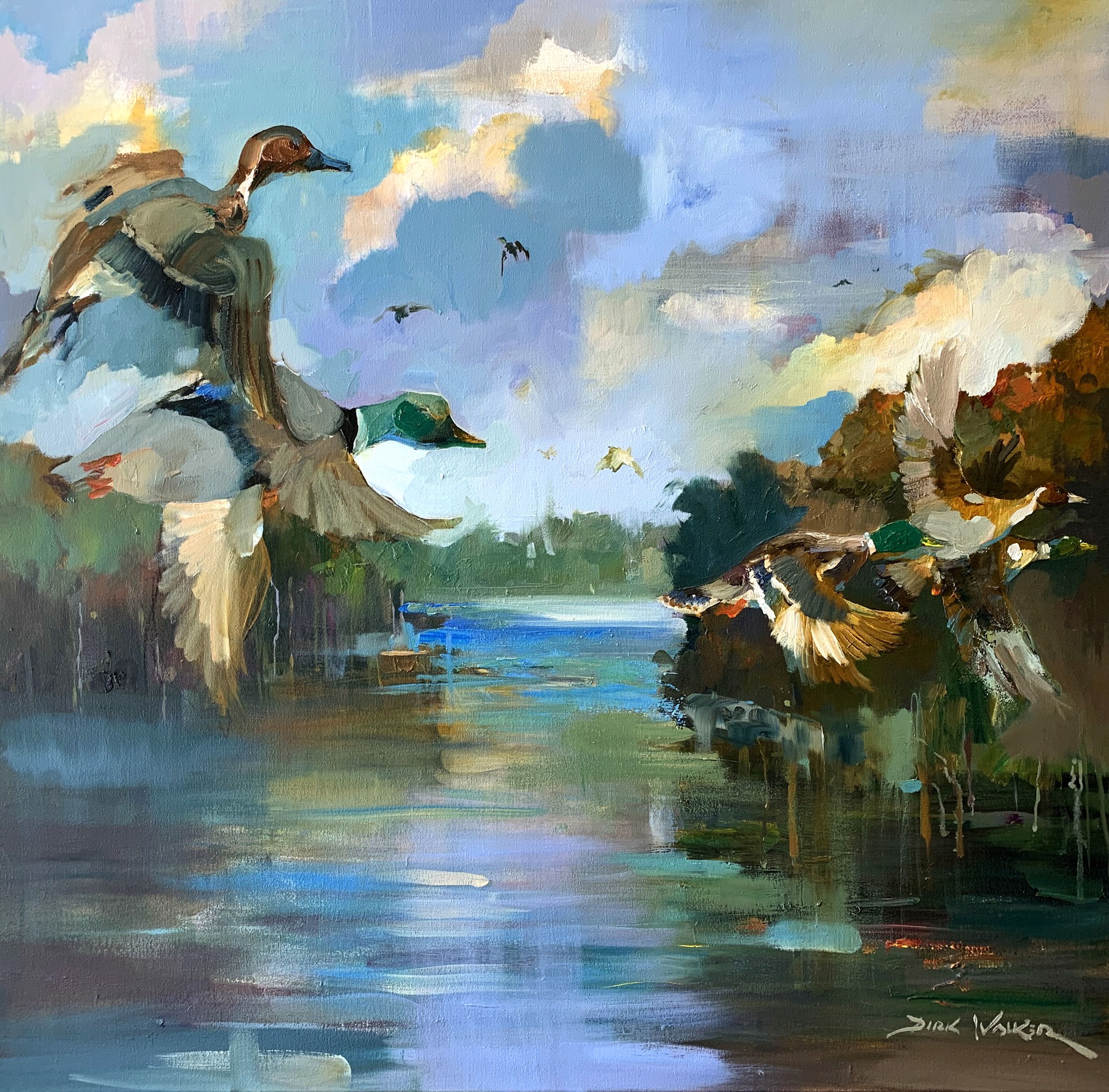 Coosa River Waterfowl by Dirk Walker