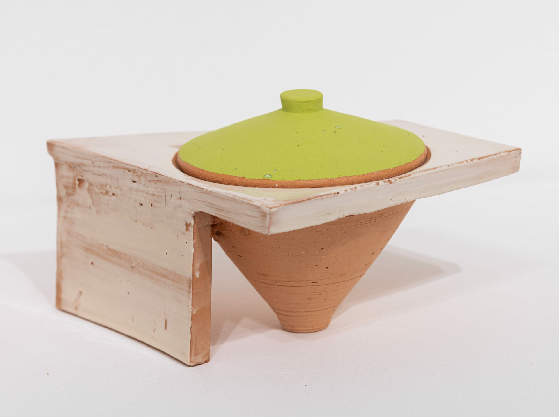 Lidded Jar (3) by Zak Helenske