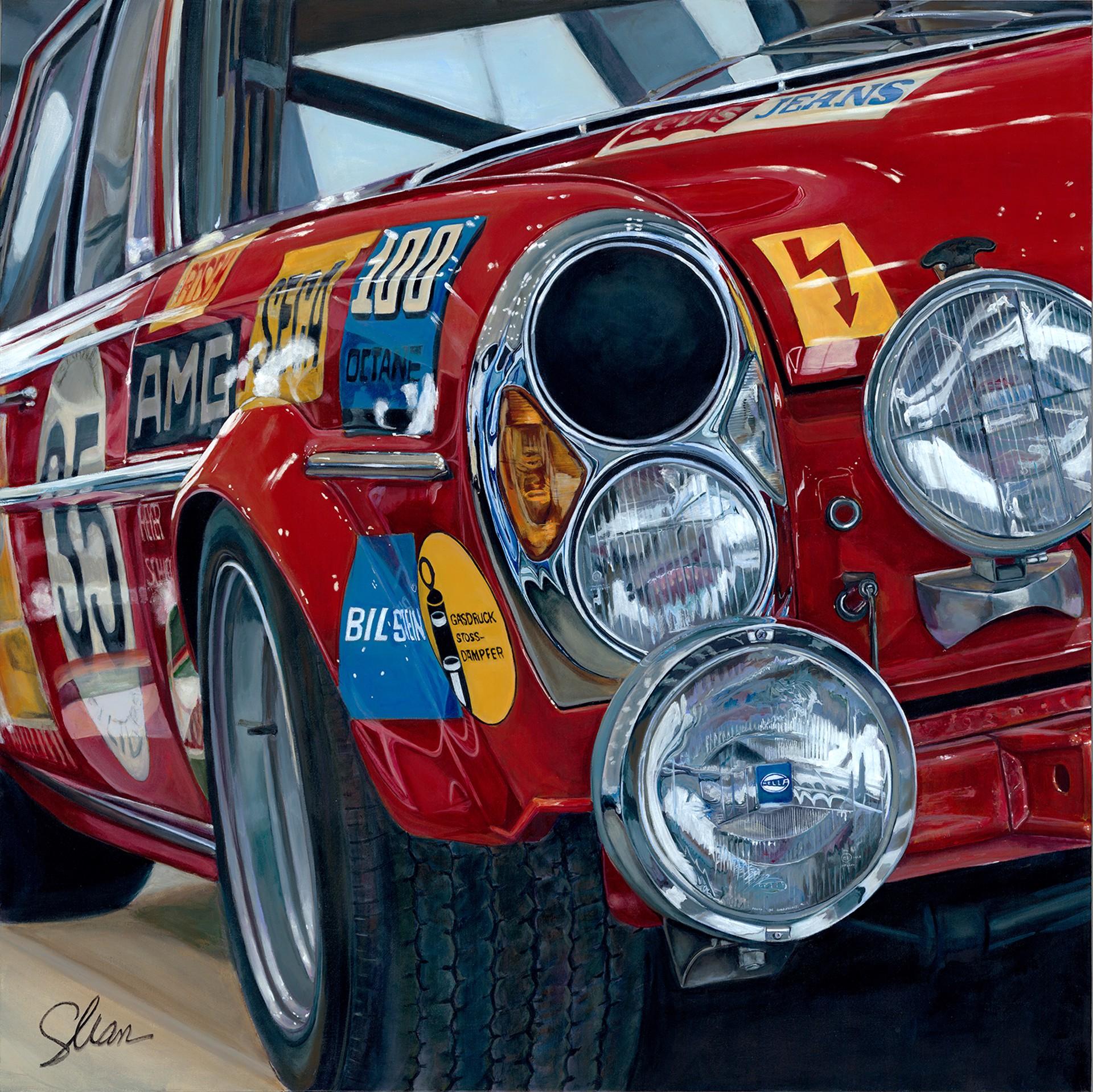 """1971 Mercedes AMG 300 aka """"Red Pig"""" by Shan Fannin"""