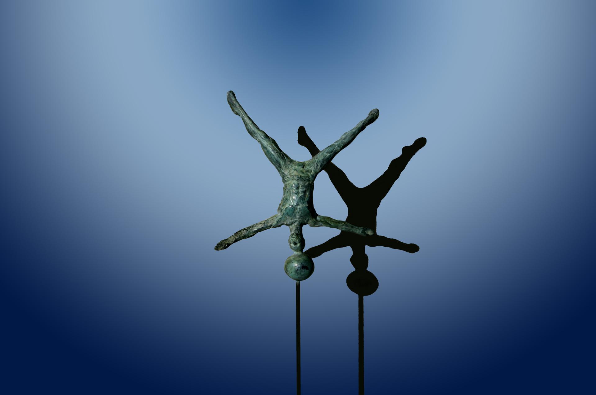 Balance Series: Headstand by Bill Starke