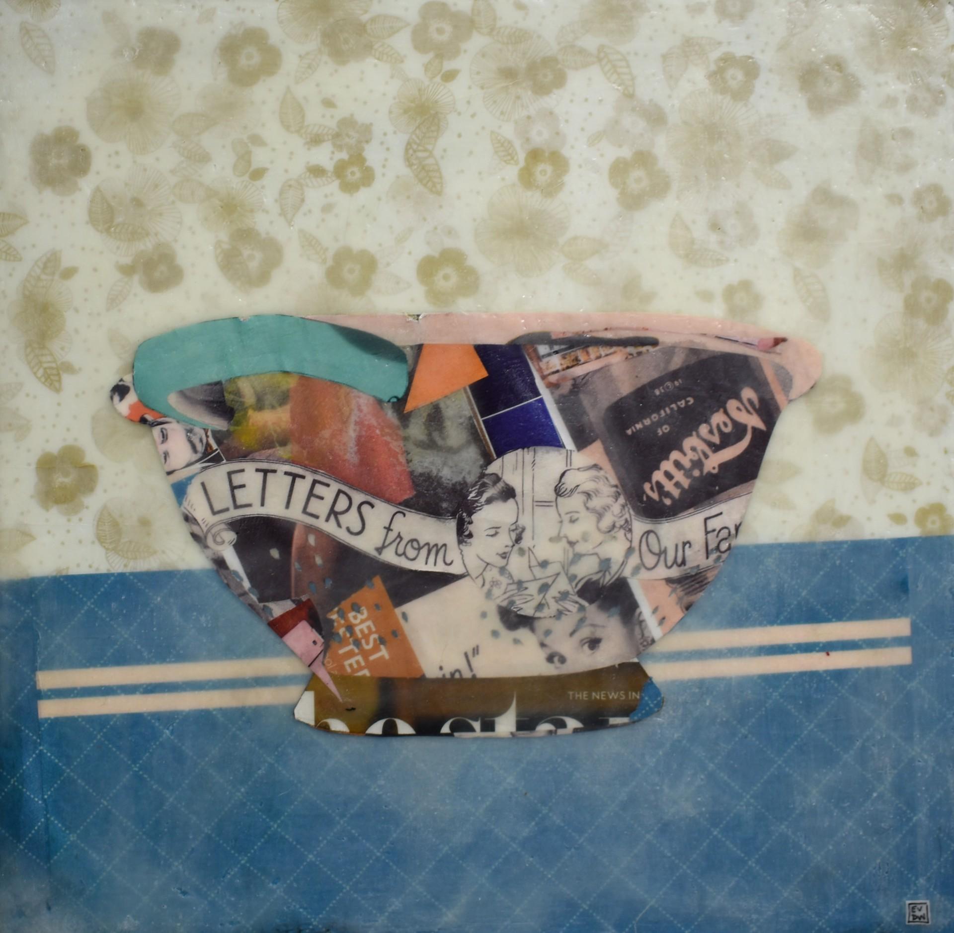 colander #1 by Evelyn Davis-Walker