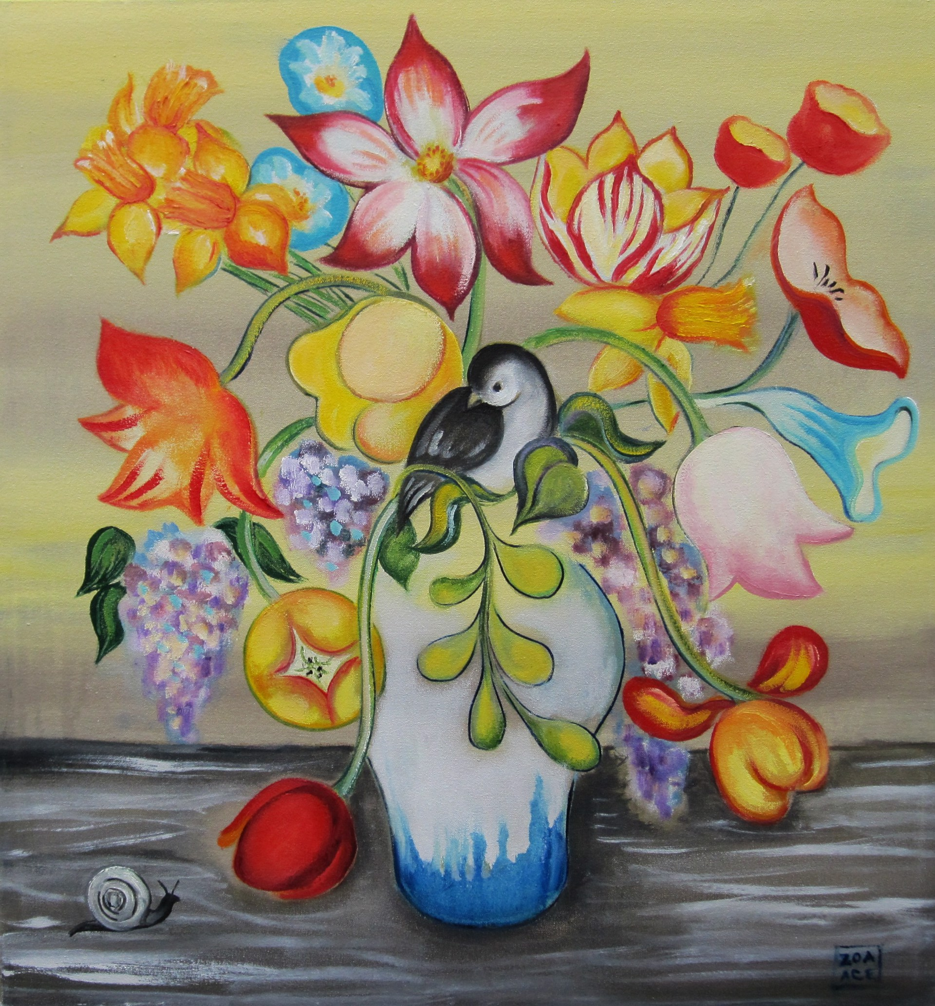 Spring Bouquet by Zoa Ace