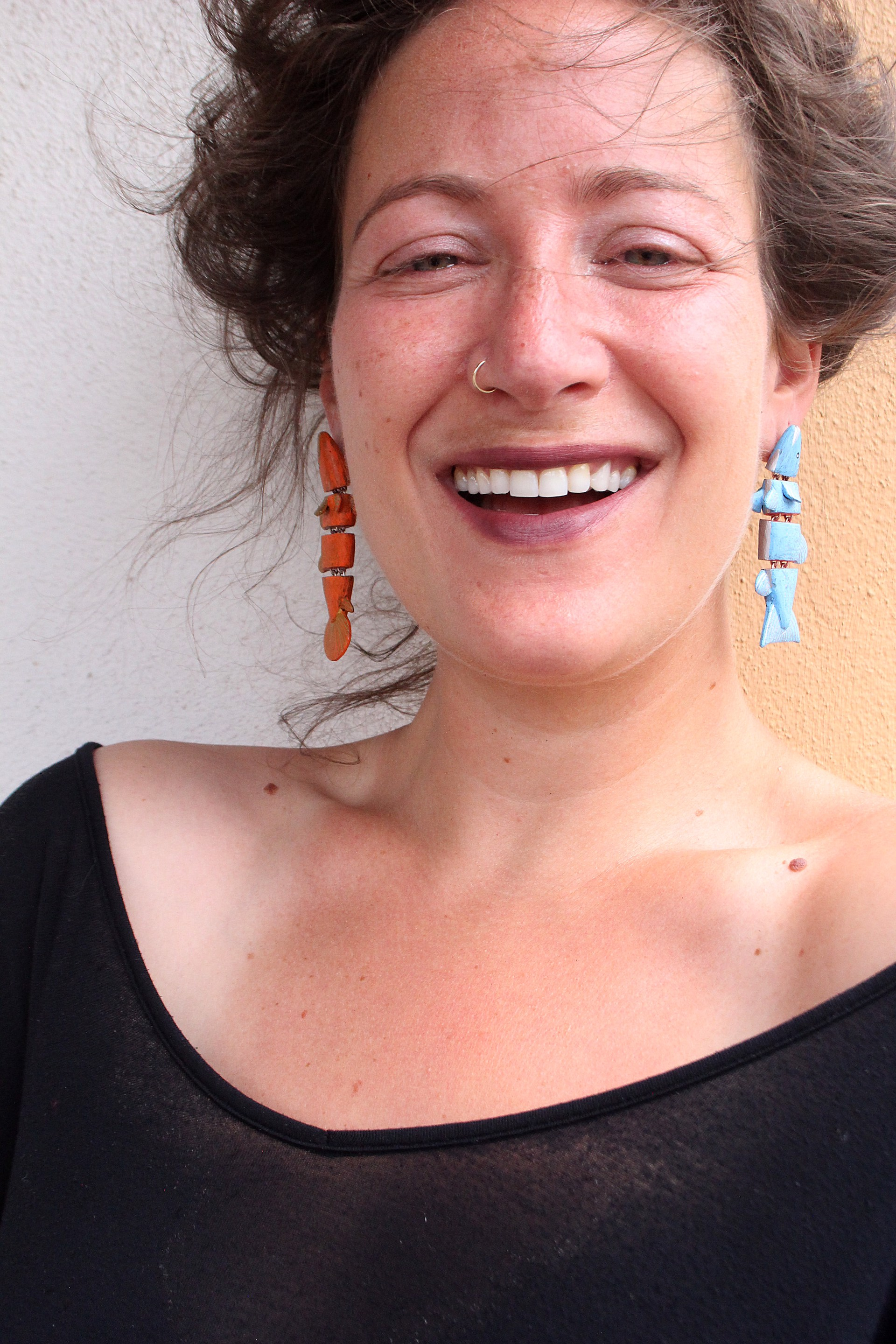 Fish Earrings by Lindsay Locatelli