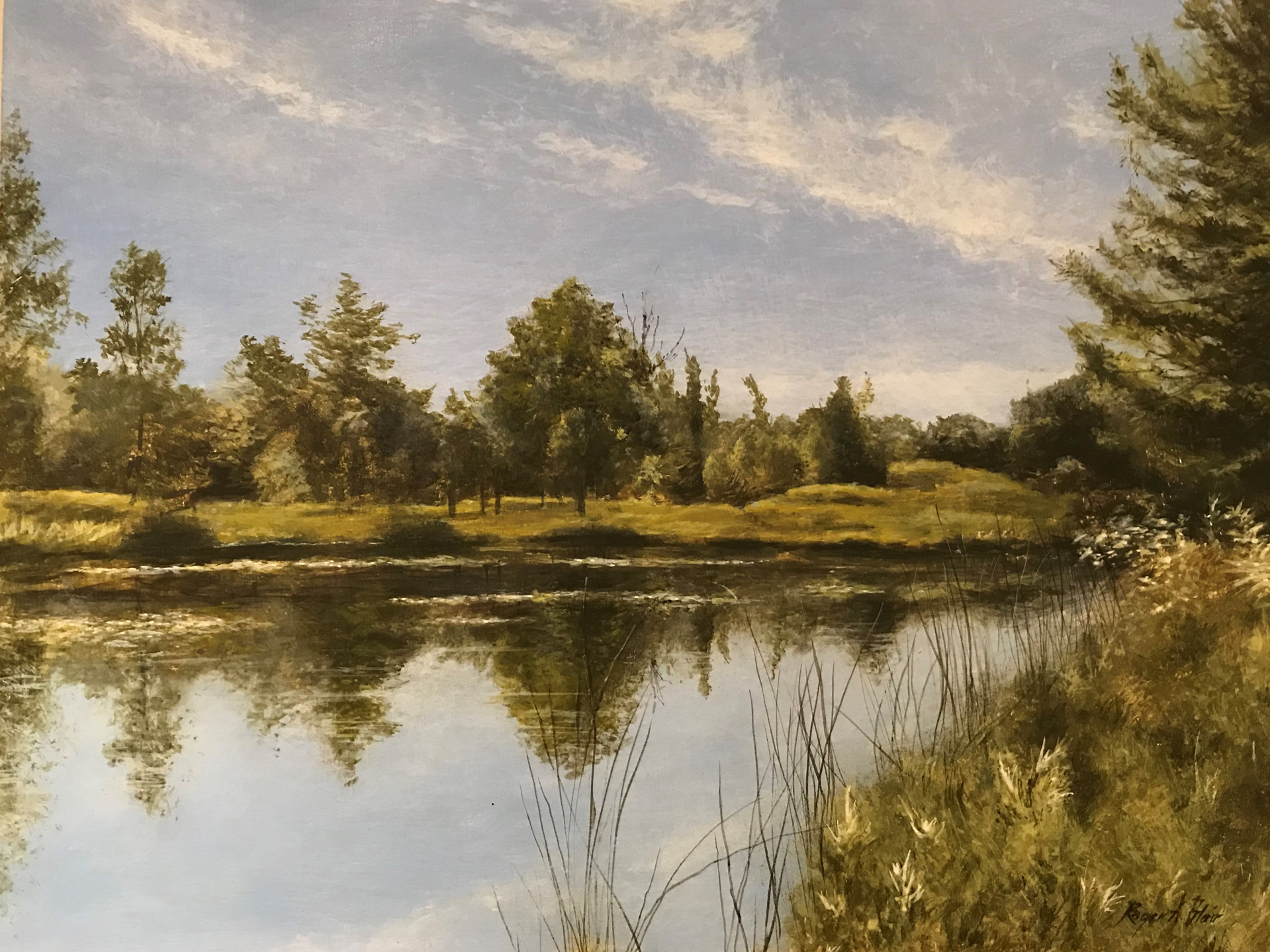 Across the Pond by Roger Blair