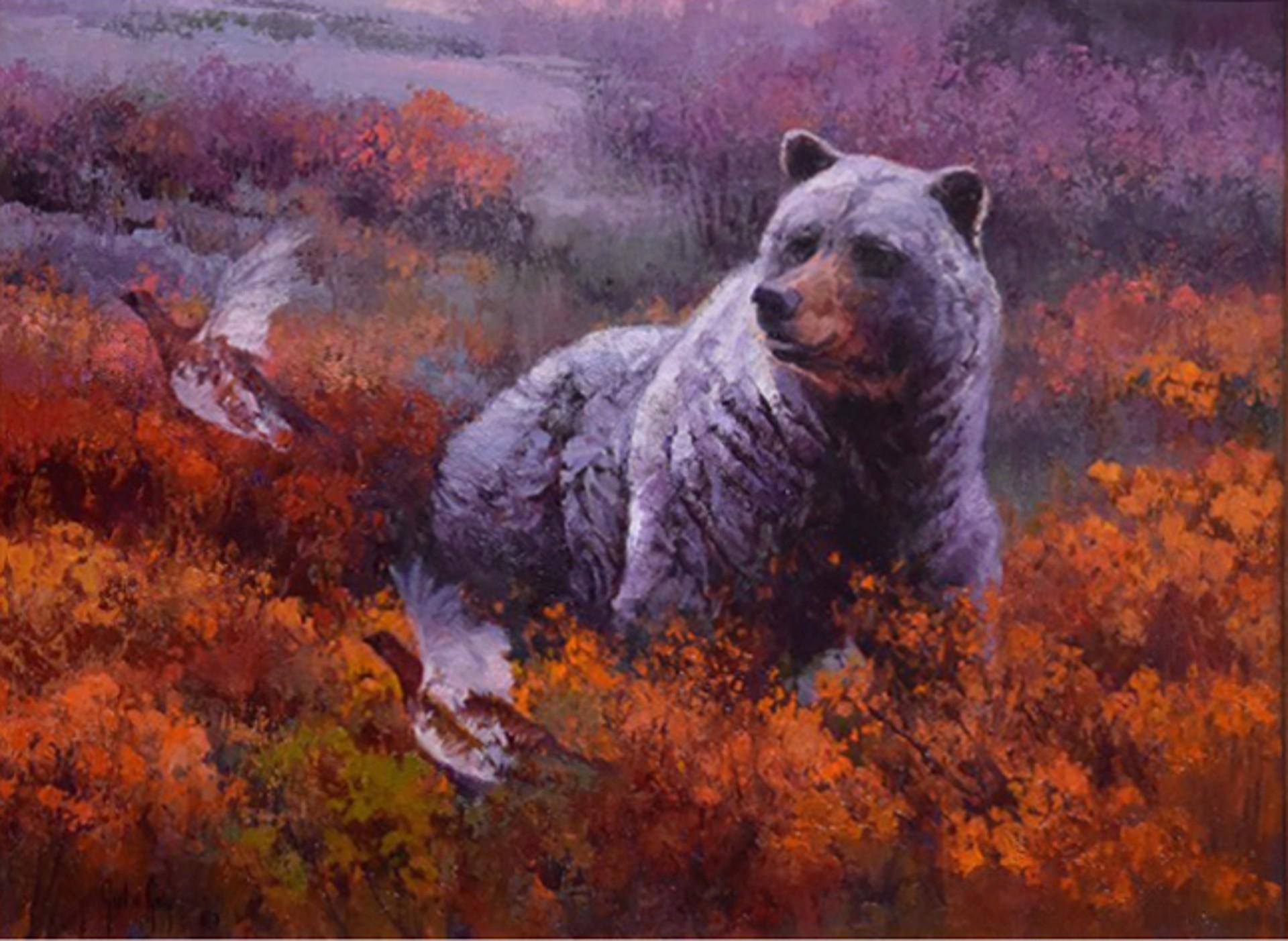 Silvertip in Color by Julie Jeppsen