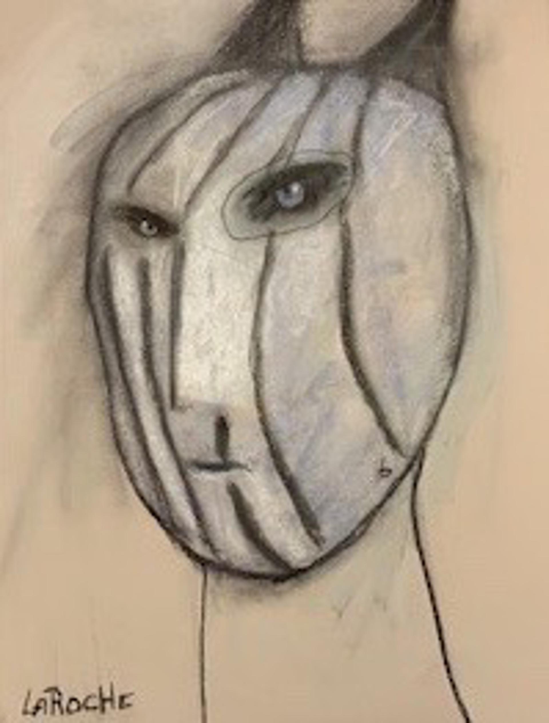 White Shaman: Mystery - Unframed by Carole LaRoche