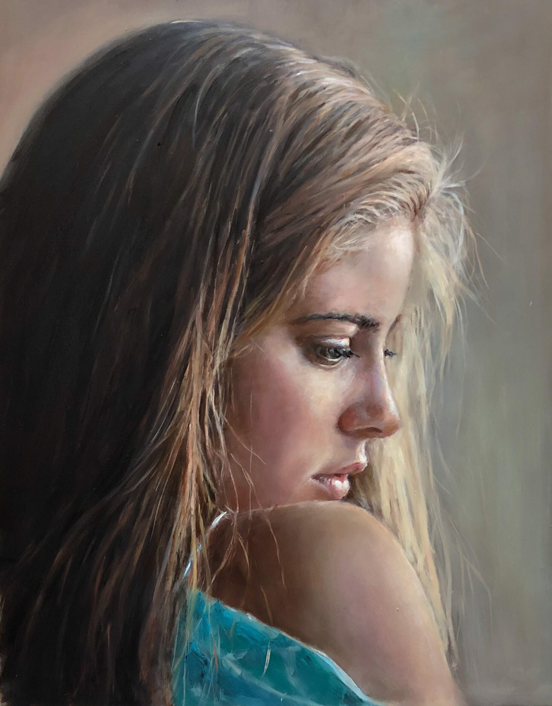 Demure  by Judith Dickinson