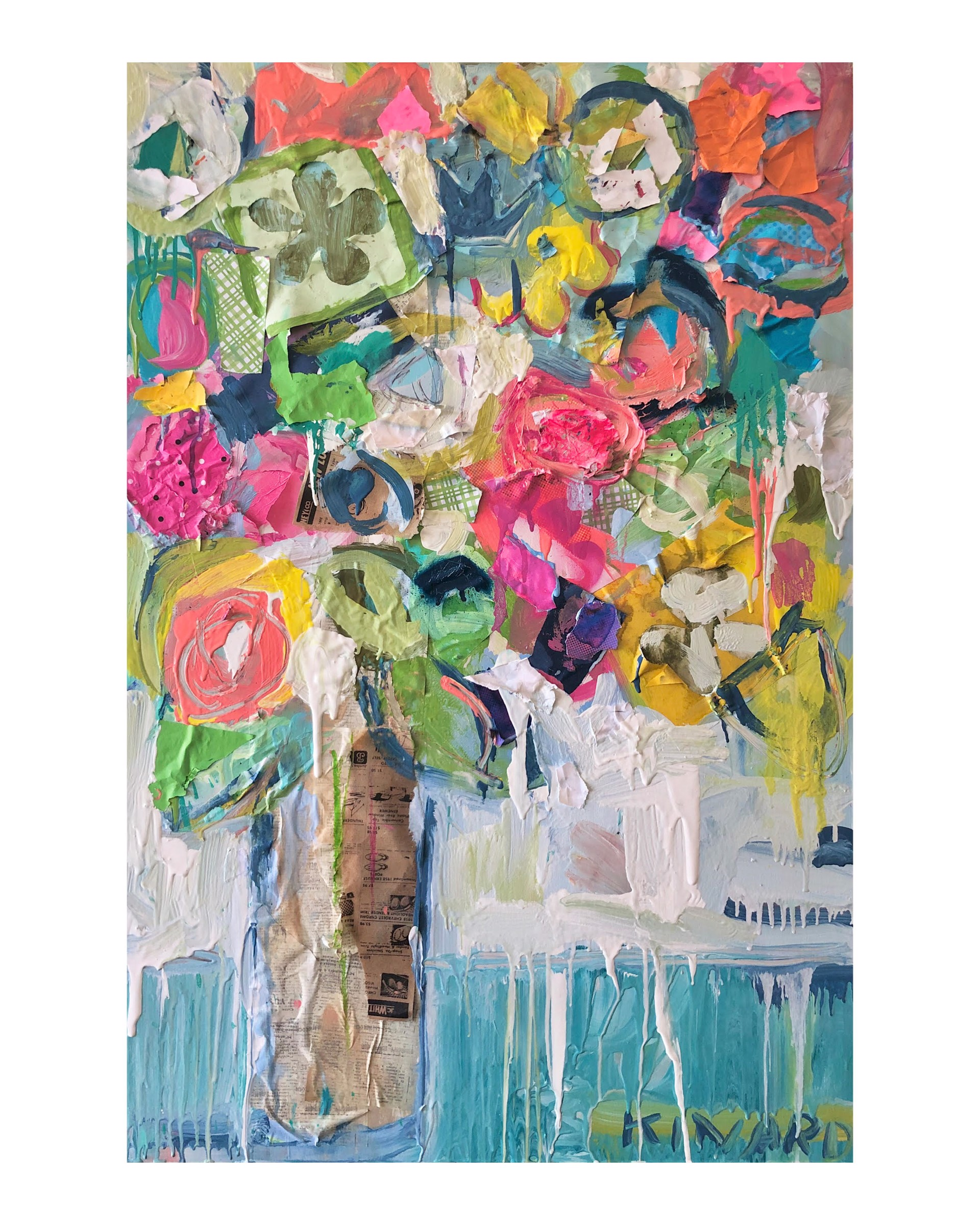 Painting for Matisse by Christy Kinard