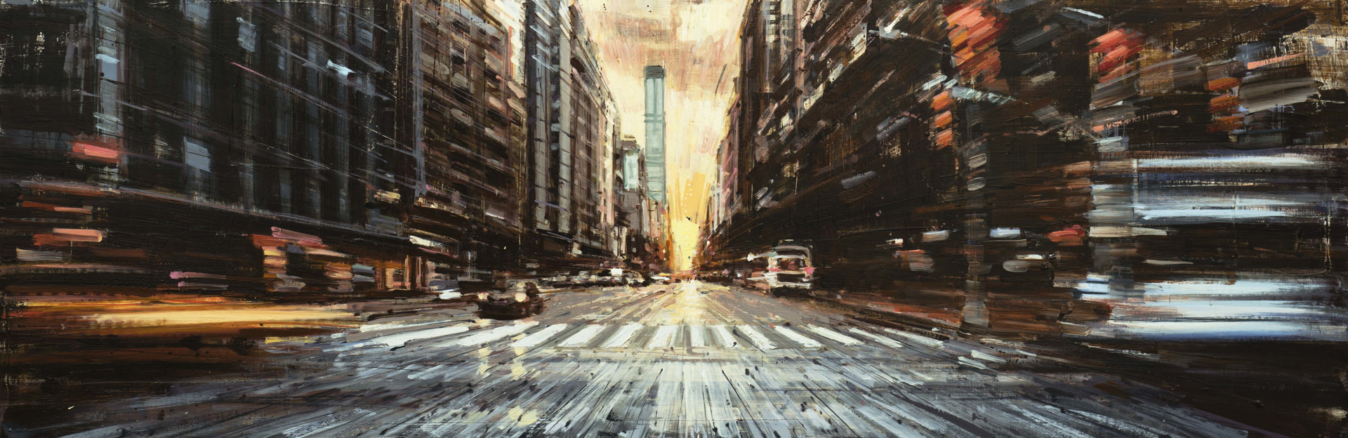 Manhattanhenge by Valerio D'Ospina