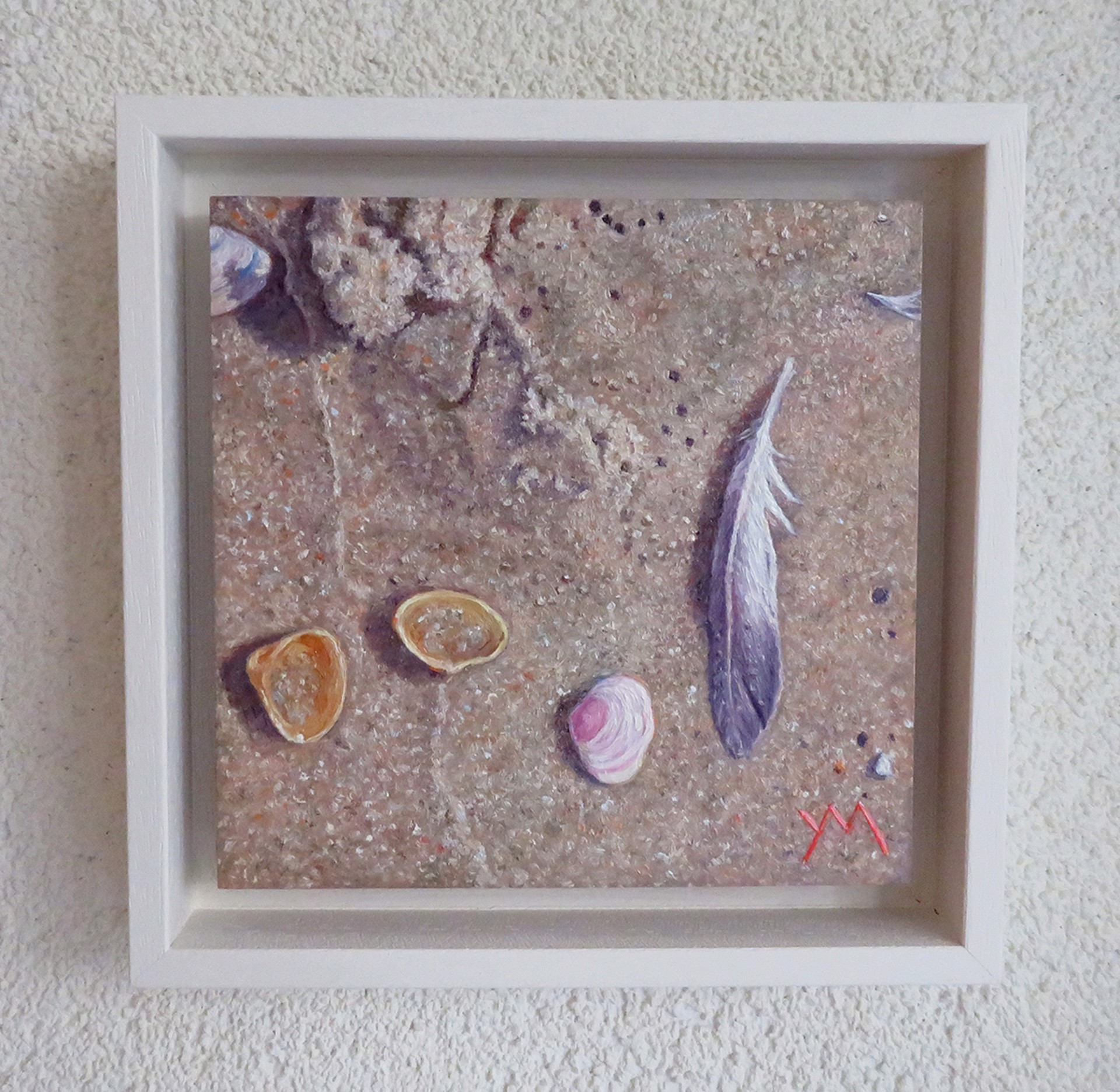 Washed Ashore North Sea Beach III by Yvonne Melchers
