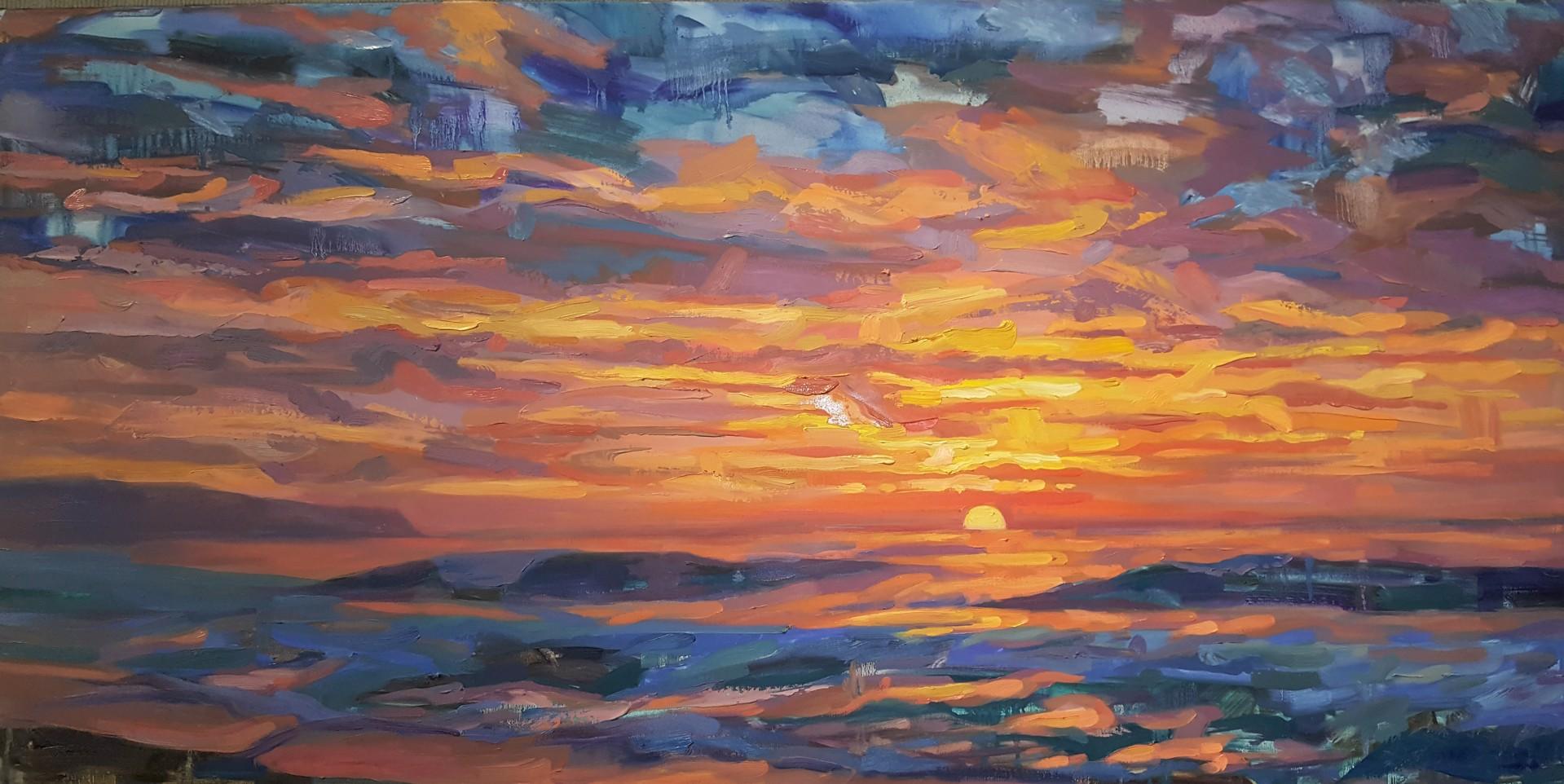 Sunset Beach, Hawaii by Isabel Emrich