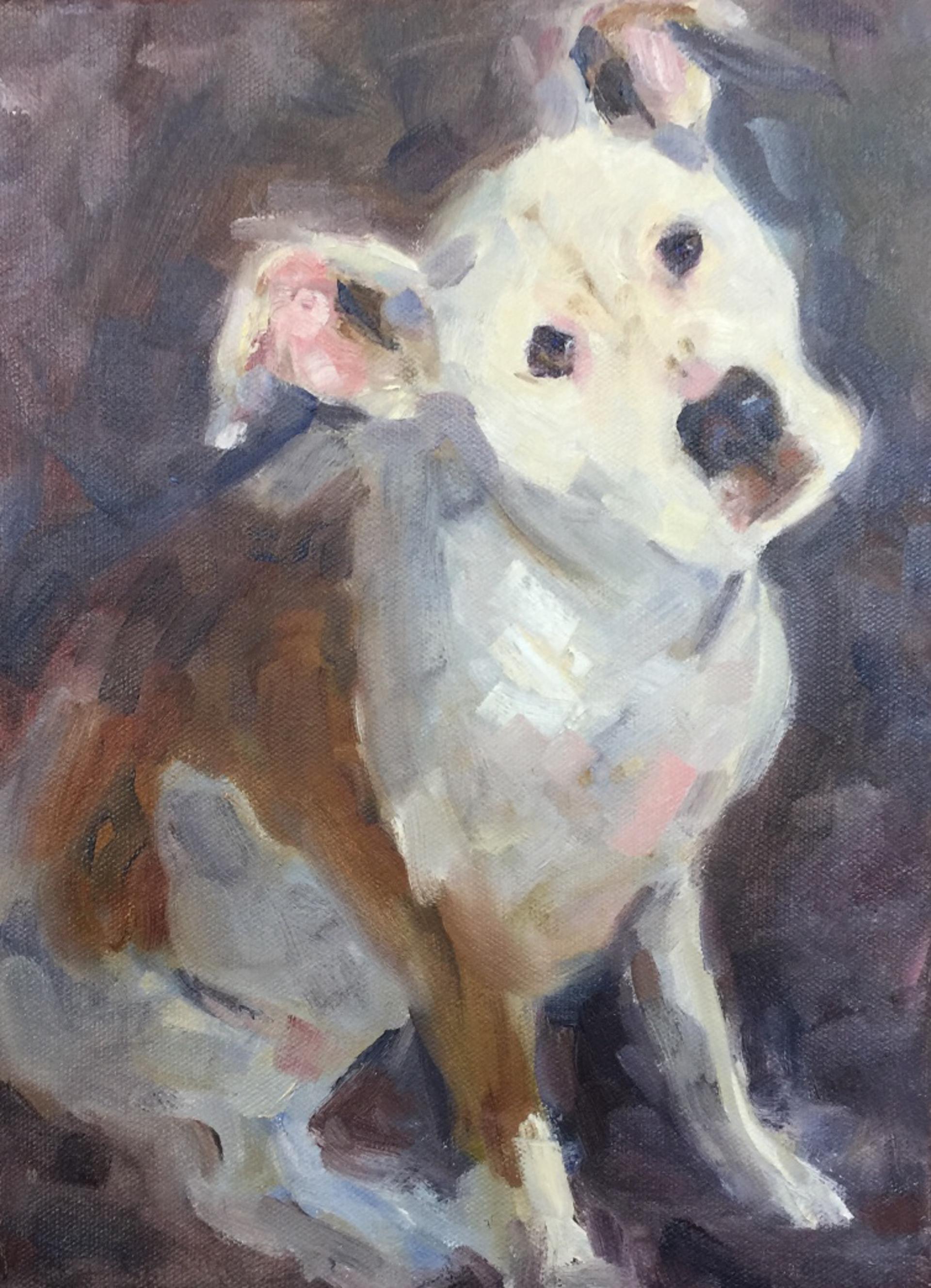 Pet Portrait Commission by Angela Powers
