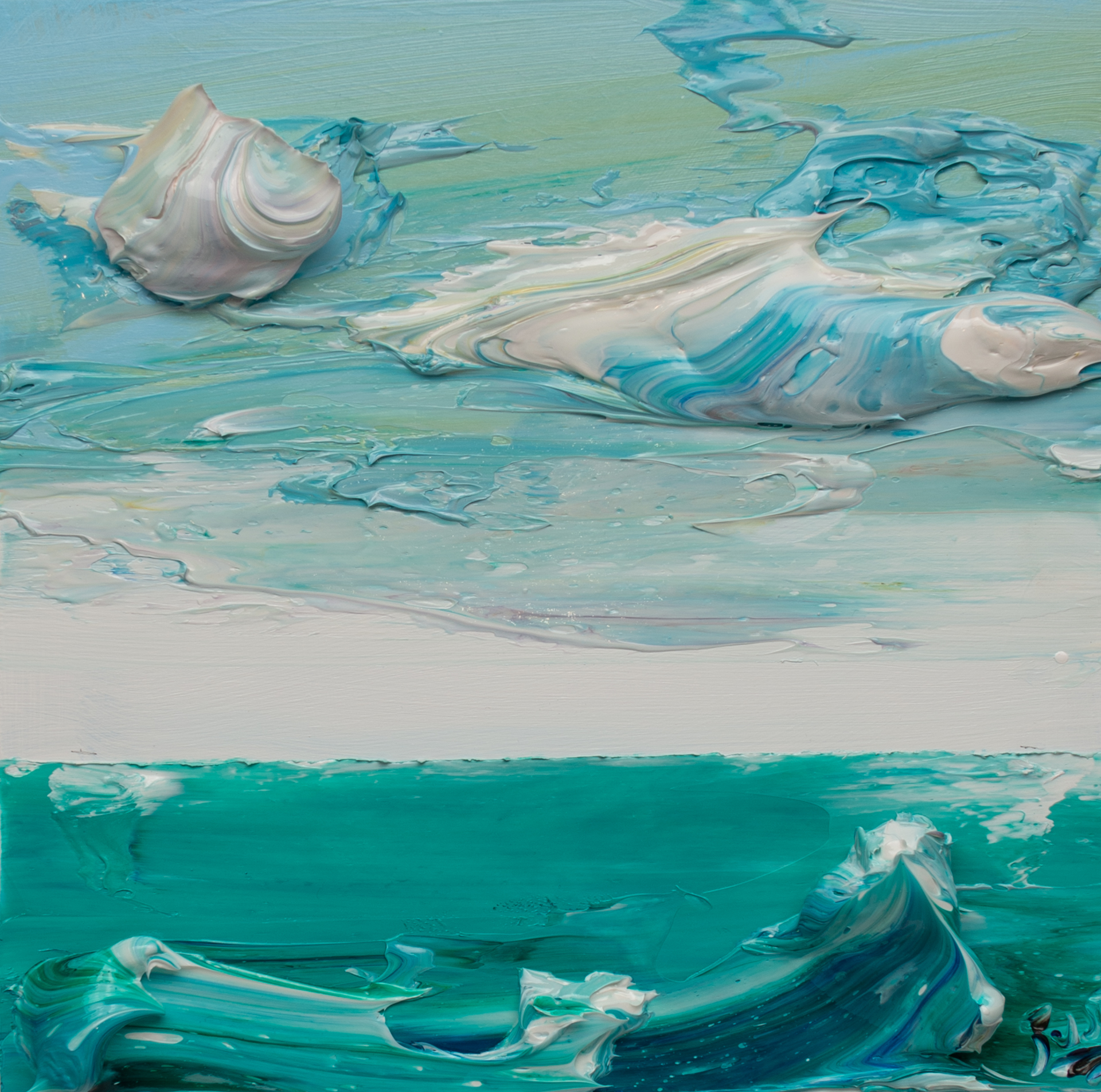 SEASCAPE SS-12x12-2020-066 by JUSTIN GAFFREY