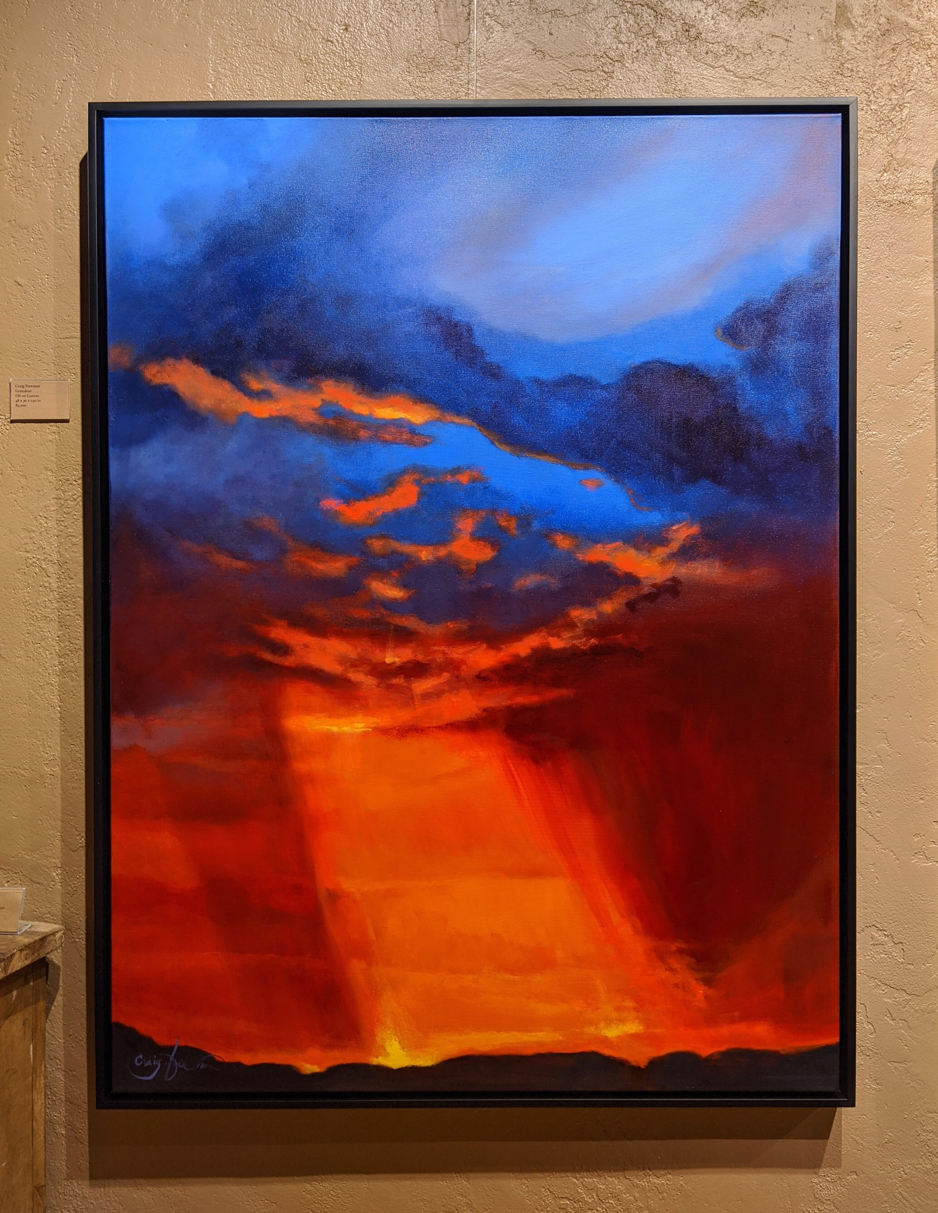 Pillar of Light II by Craig Freeman