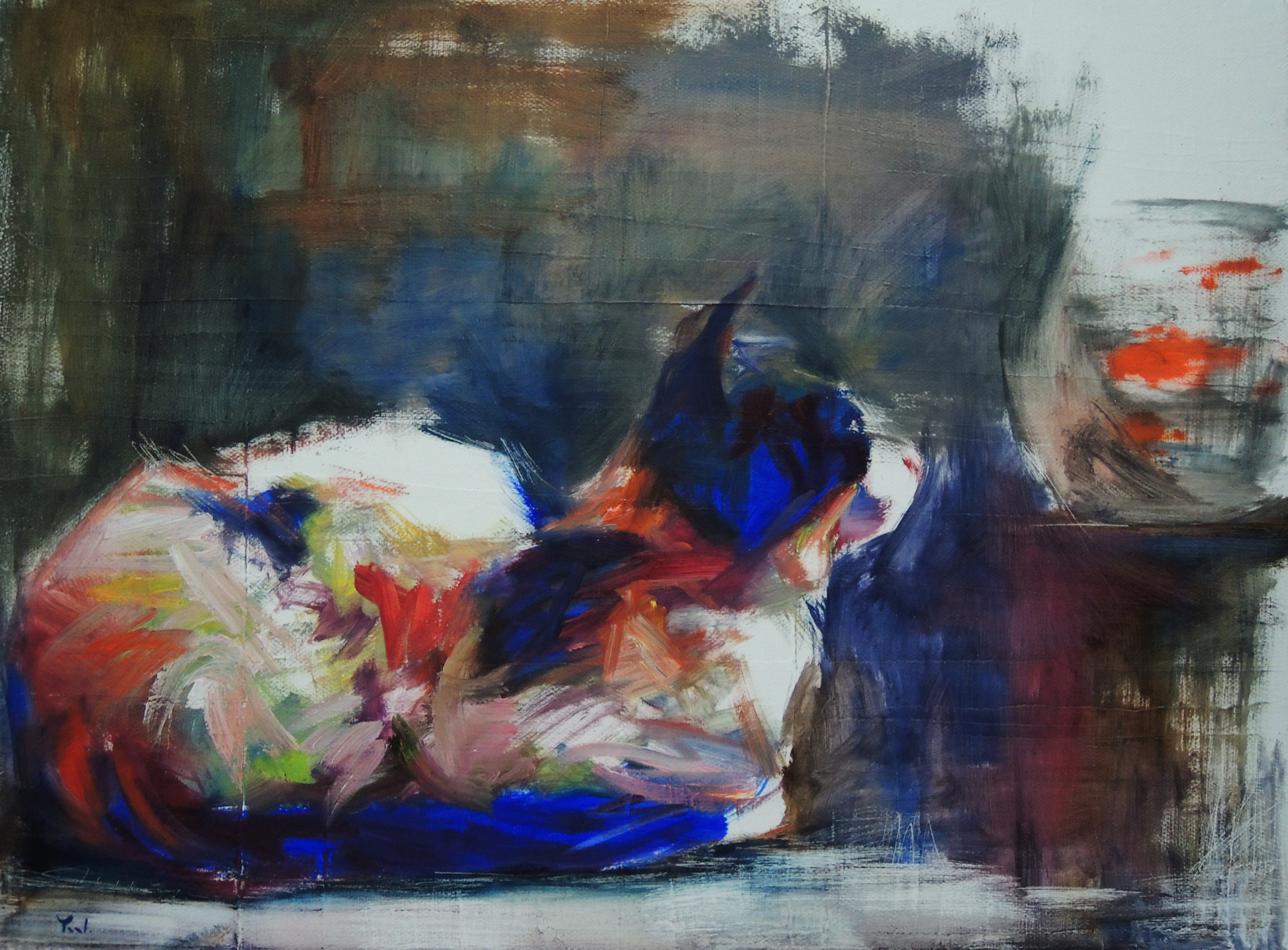 Daydreaming and Fishing by Yael Maimon