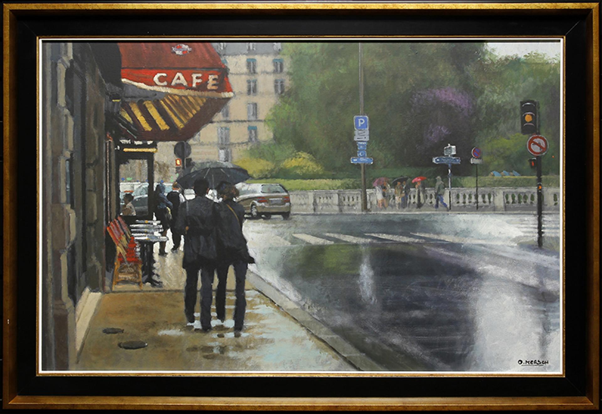 Streets Of Paris by Oscar Mersch