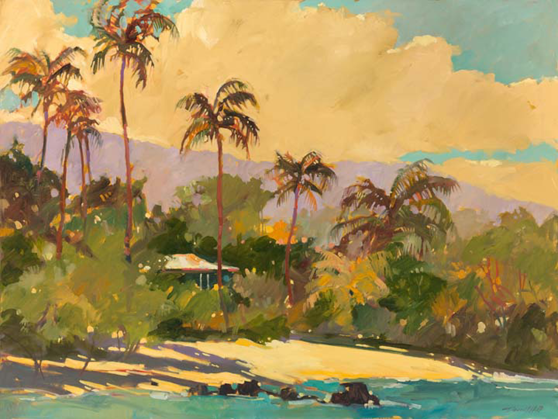 Island Tranquility APE by Darrell Hill