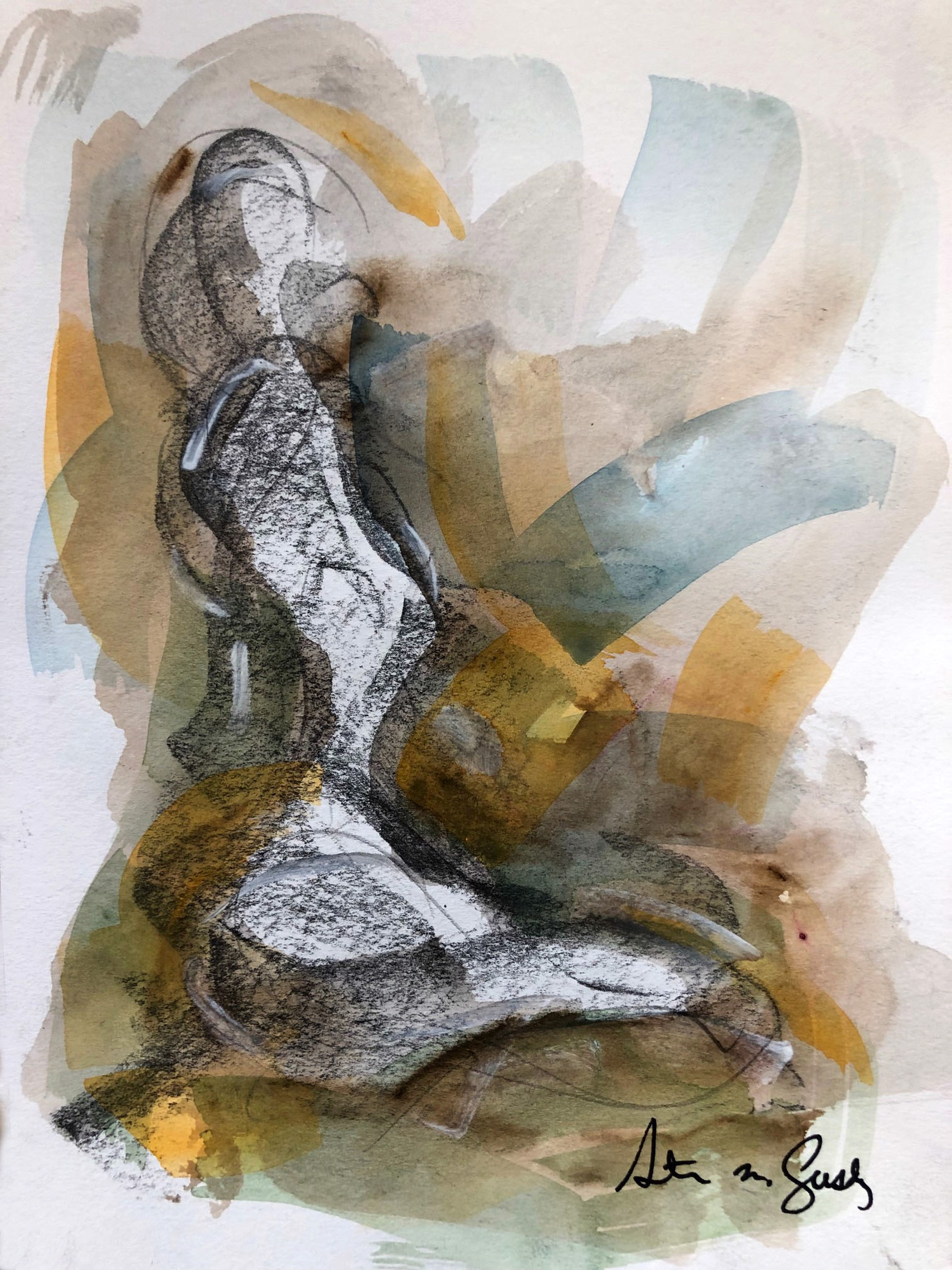 Untitled (Life Drawing) by Steven Lustig