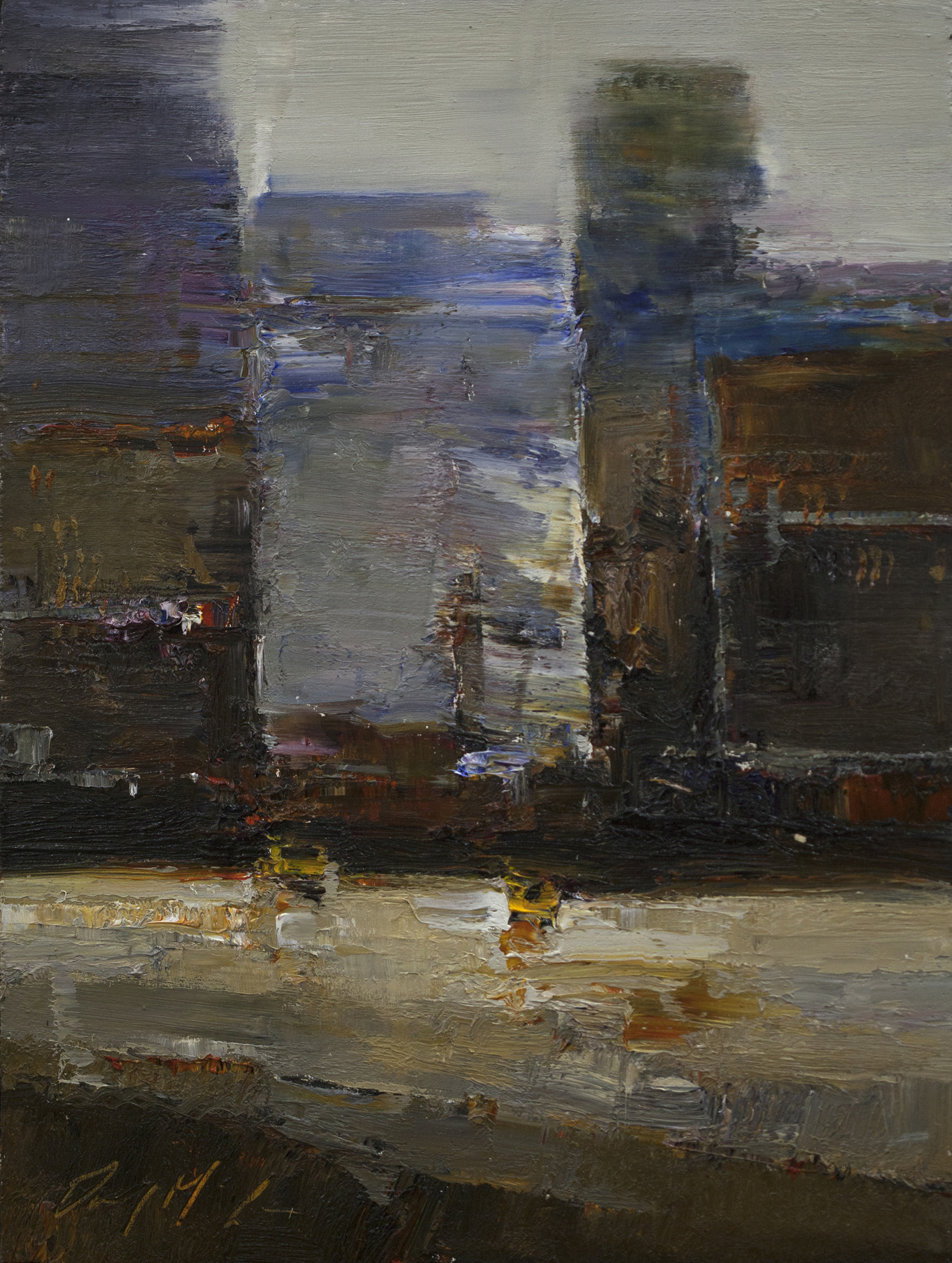 Abstract City by Danny McCaw