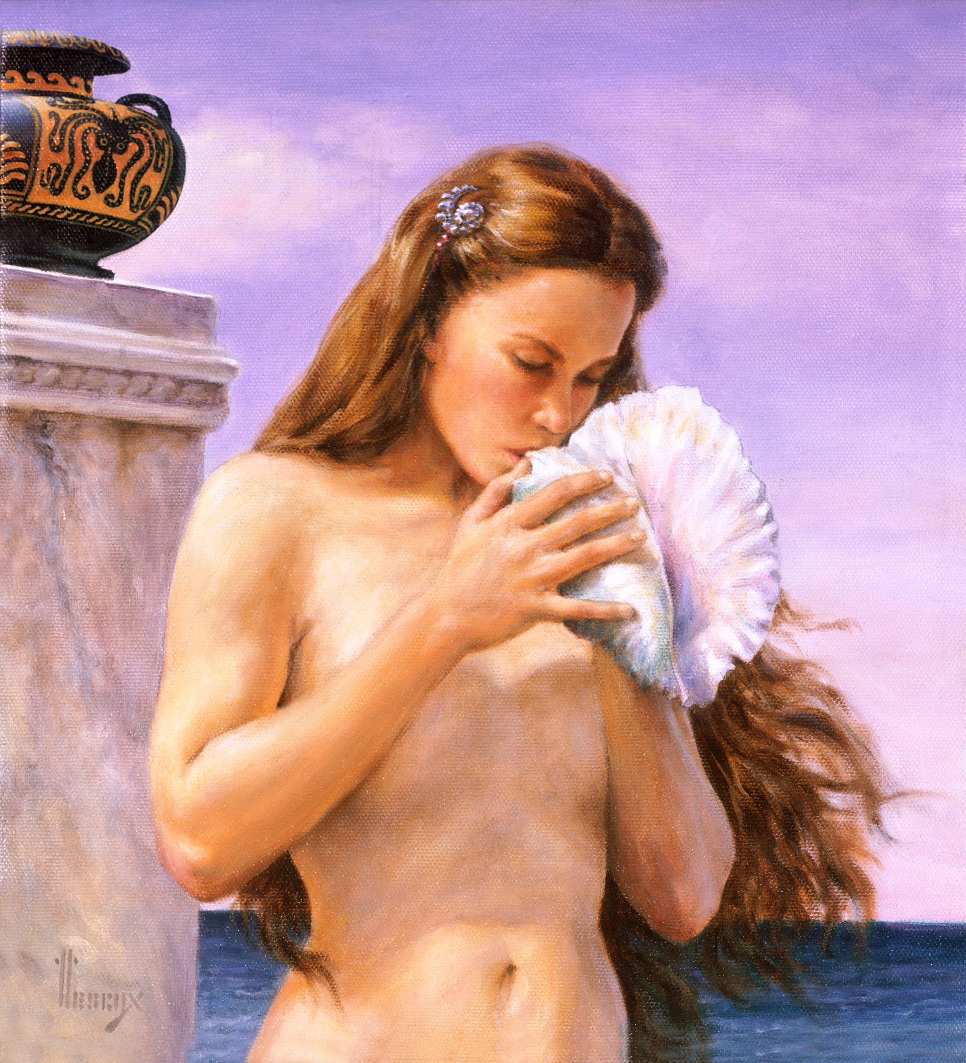 Poseidon's Daughter by Richard Hescox