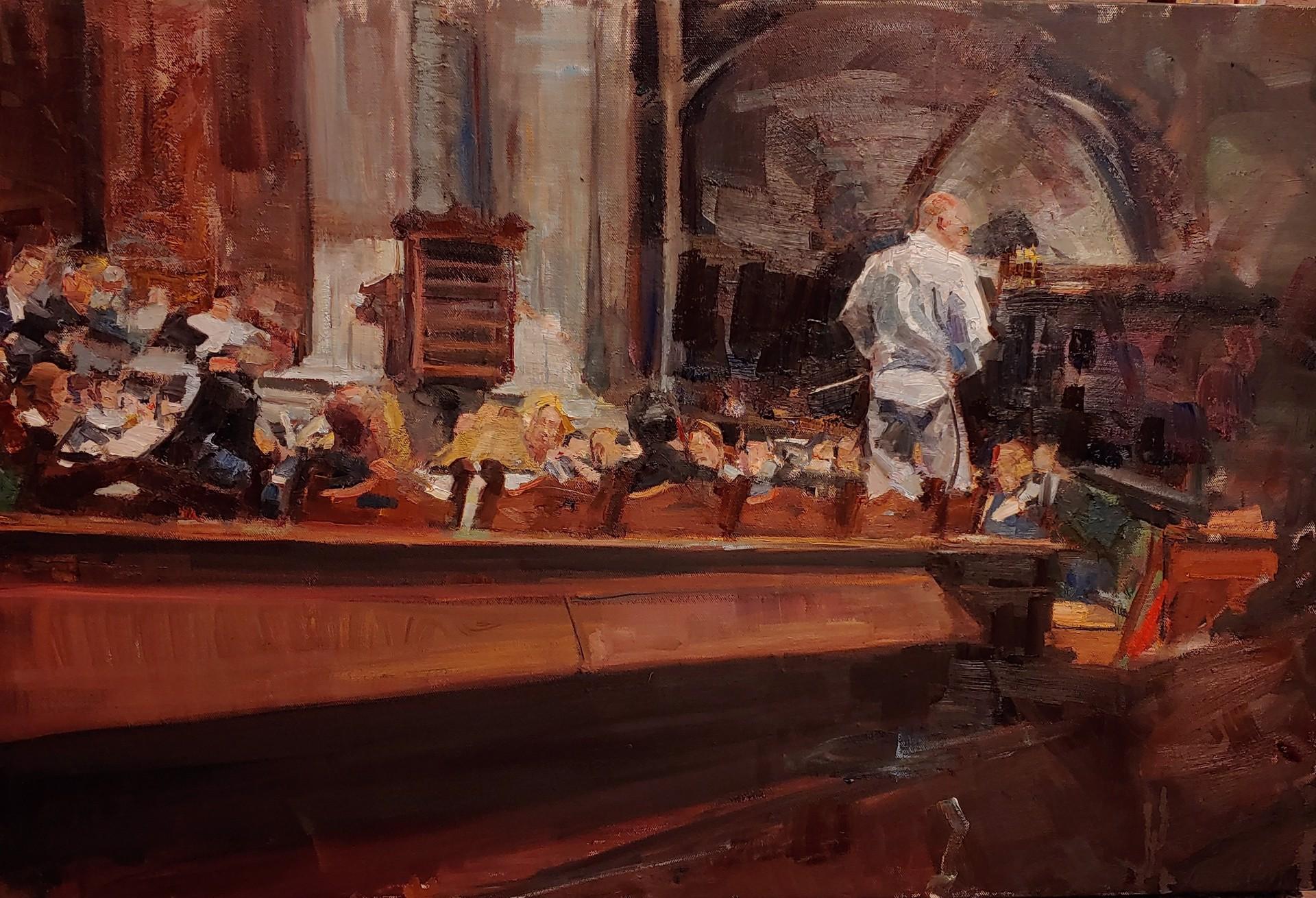 Rehearsal by Mikael Olson