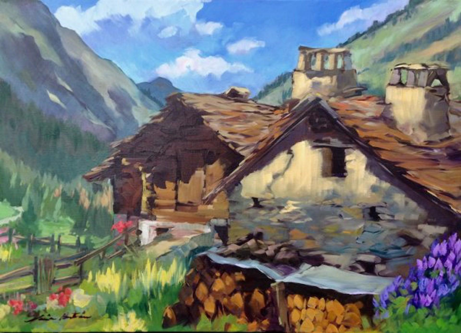 Gran Paradiso Cabin by Maria Bertrán