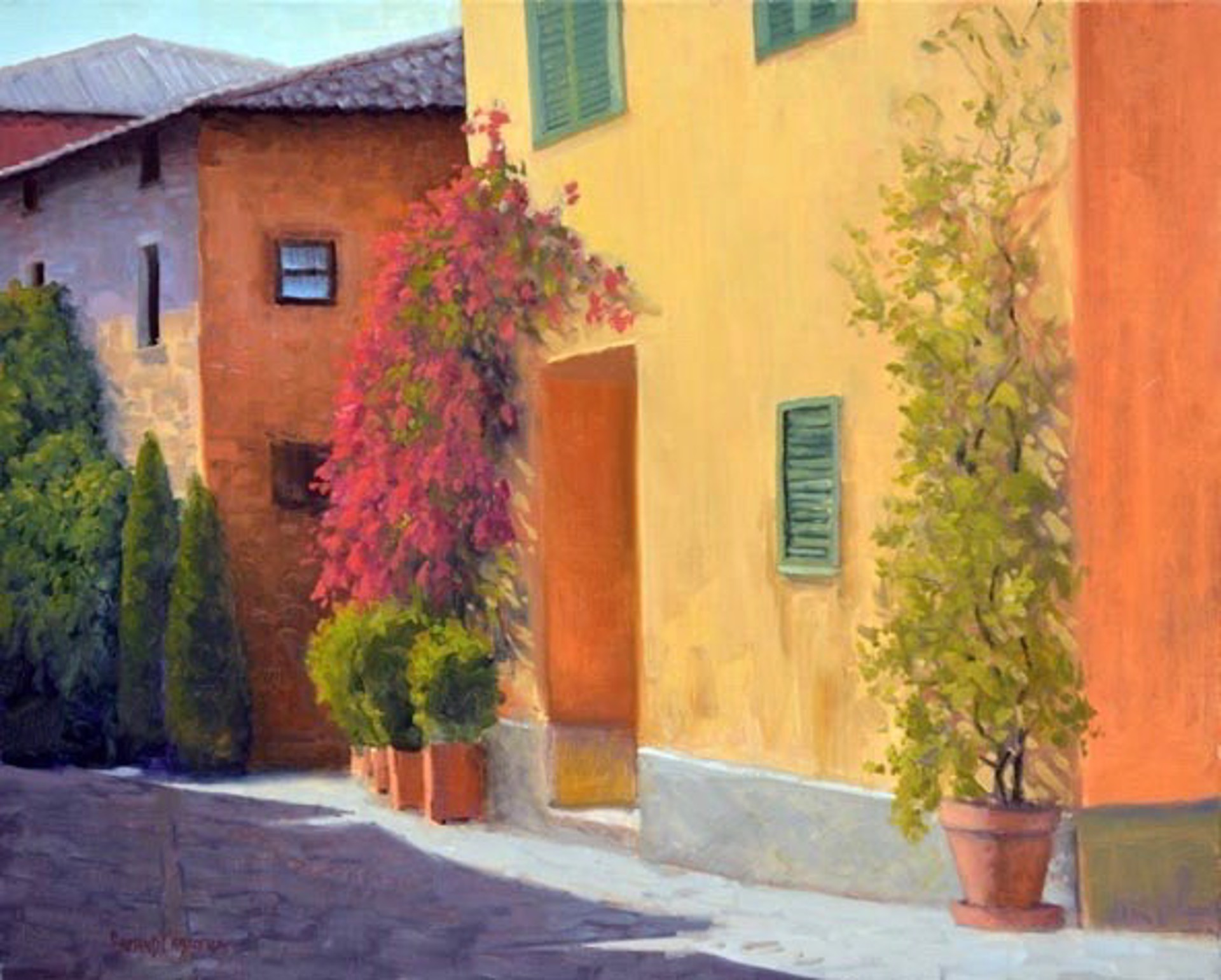 Tuscan Spring by ARMAND CABRERA