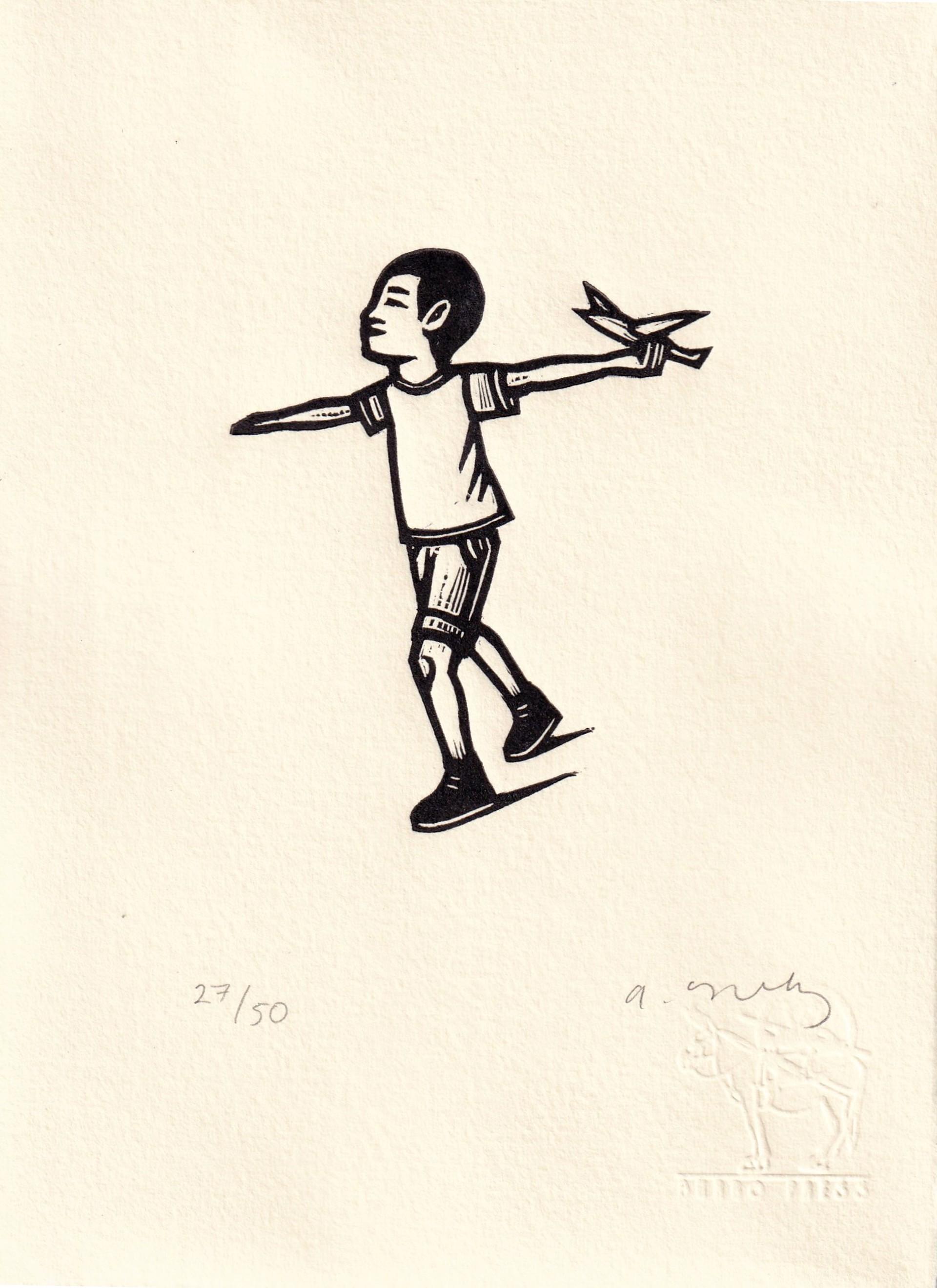 Untitled (Niño Avión) by Alberto Cruz