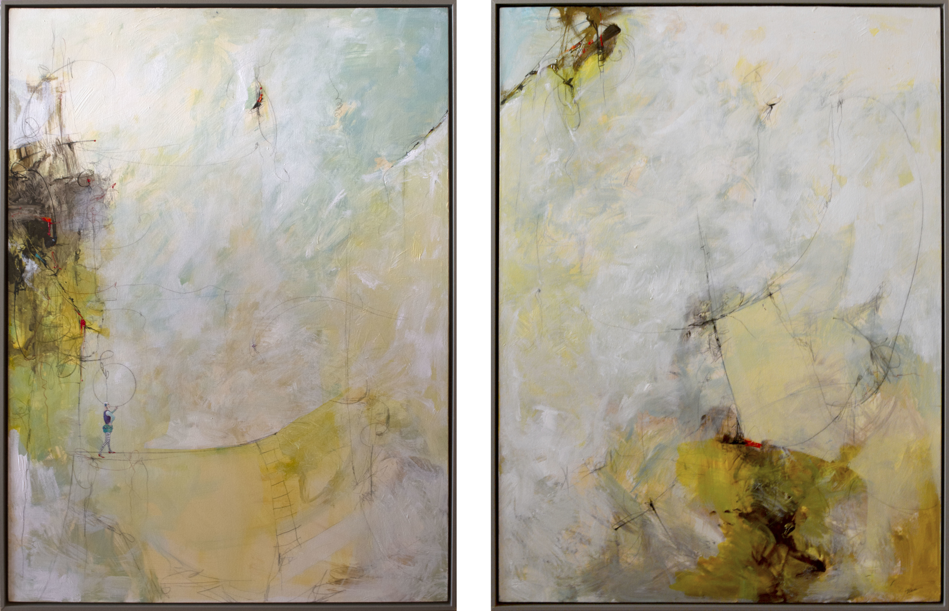 Wonderland (Diptych) by Wan Marsh