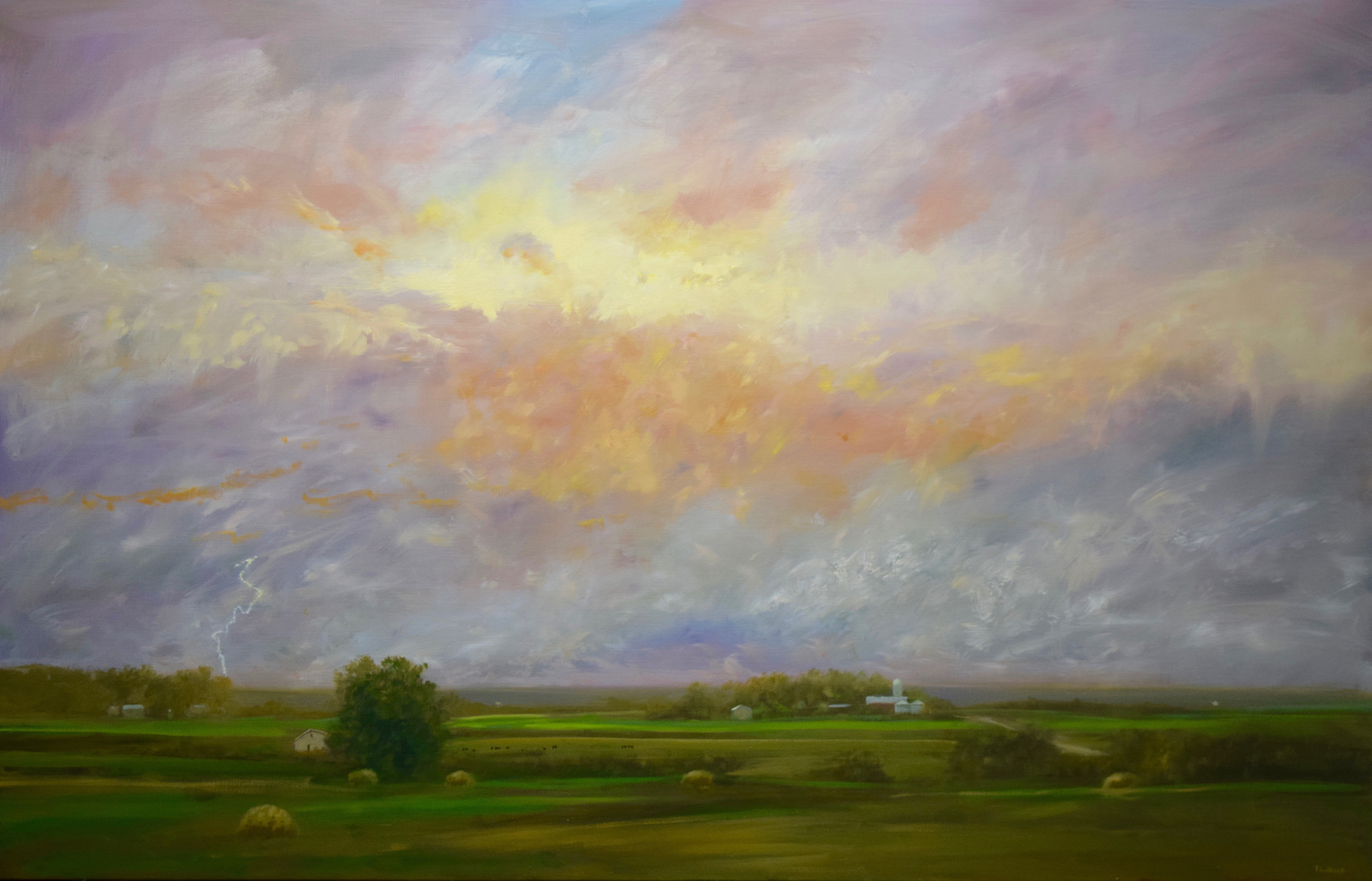 Approaching Storm by Ray Knaub