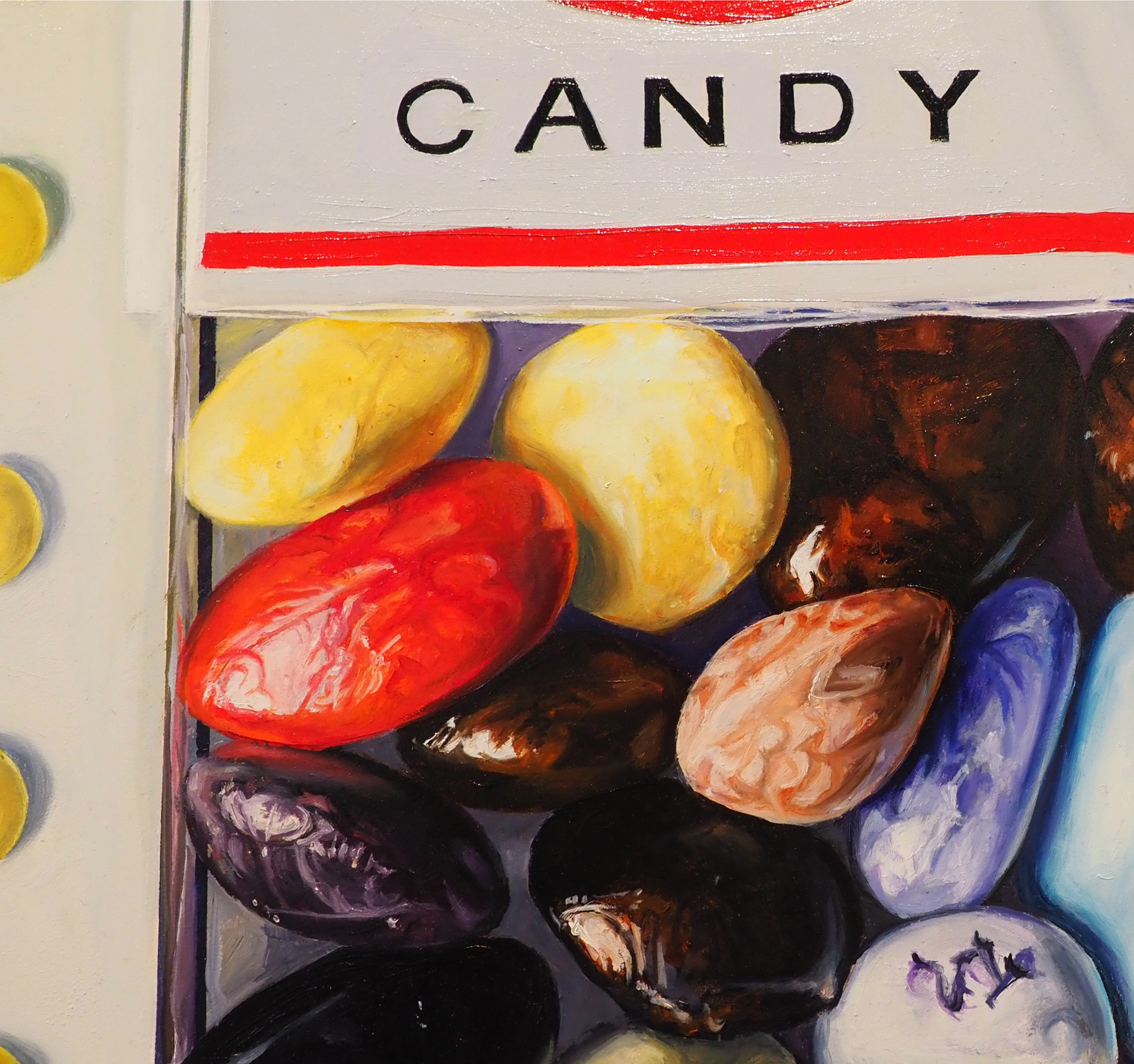 Candy Faux by Denise Stewart-Sanabria