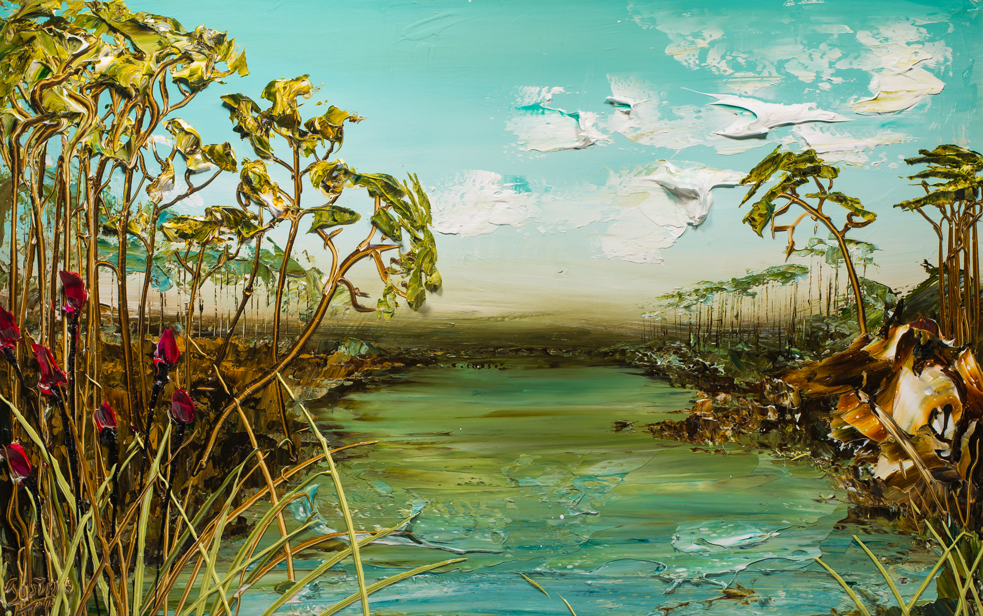 LAKESCAPE LS48X30-2019-084 by Justin Gaffrey
