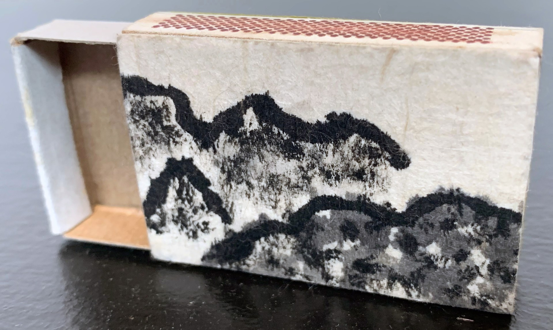 Mountain Visions matchbox 1 by Donald Cole