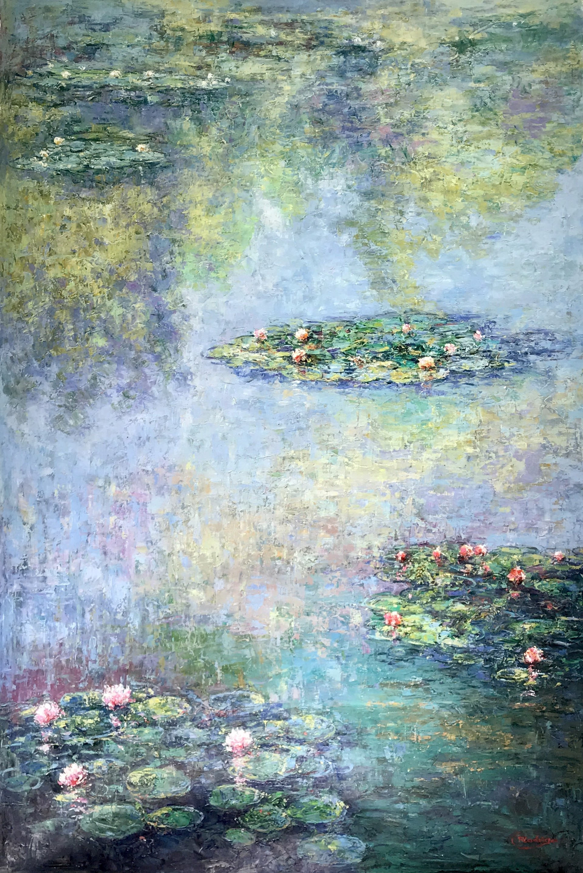 WATER LILLIES by RODRIGO