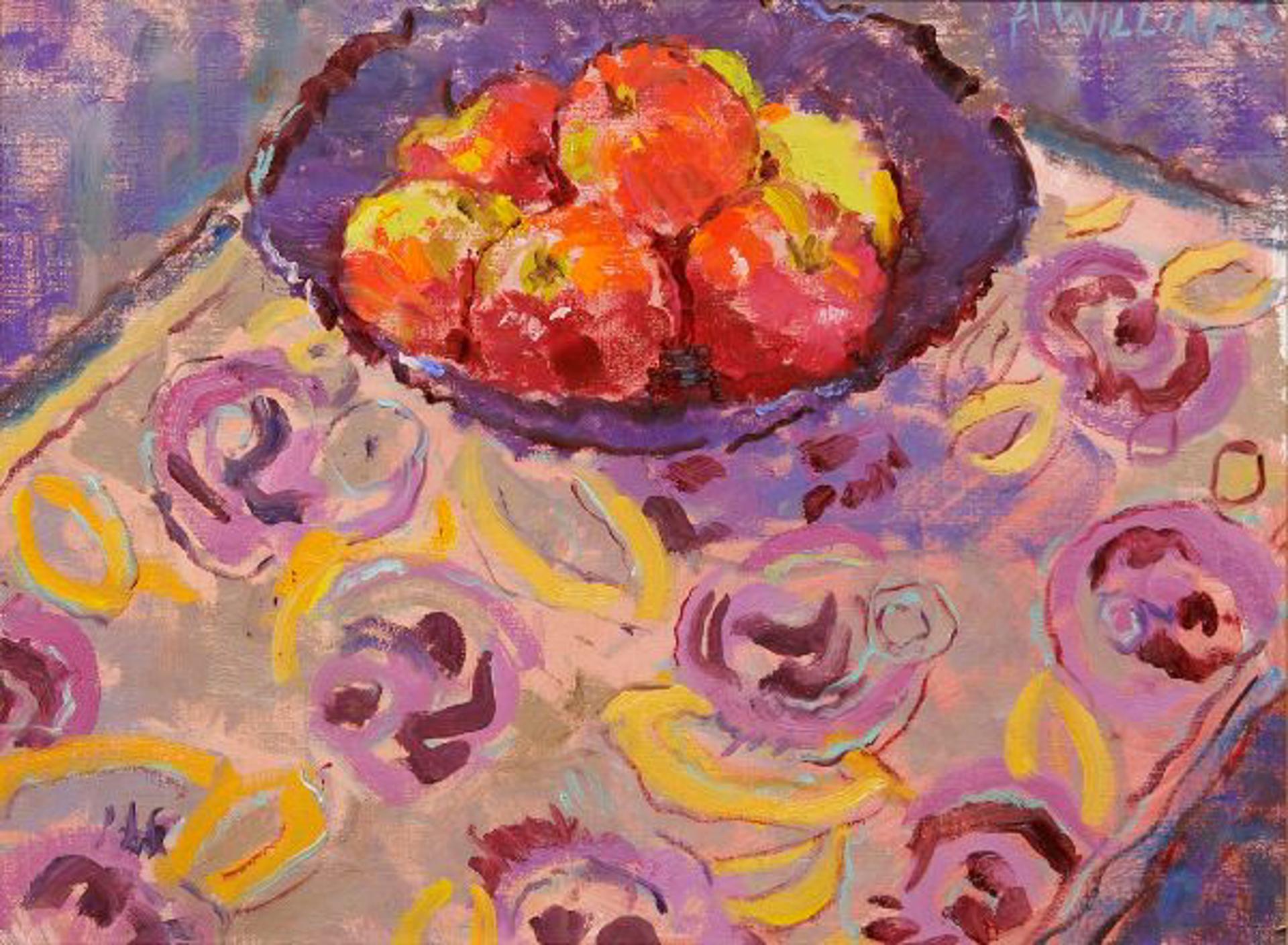 L'Assiette des Pommes II by Alice Williams