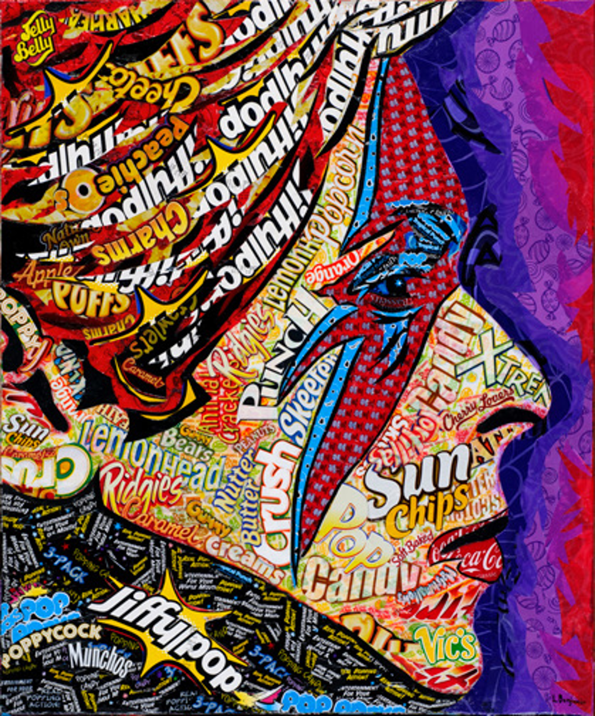 Bowie by Laura Benjamin