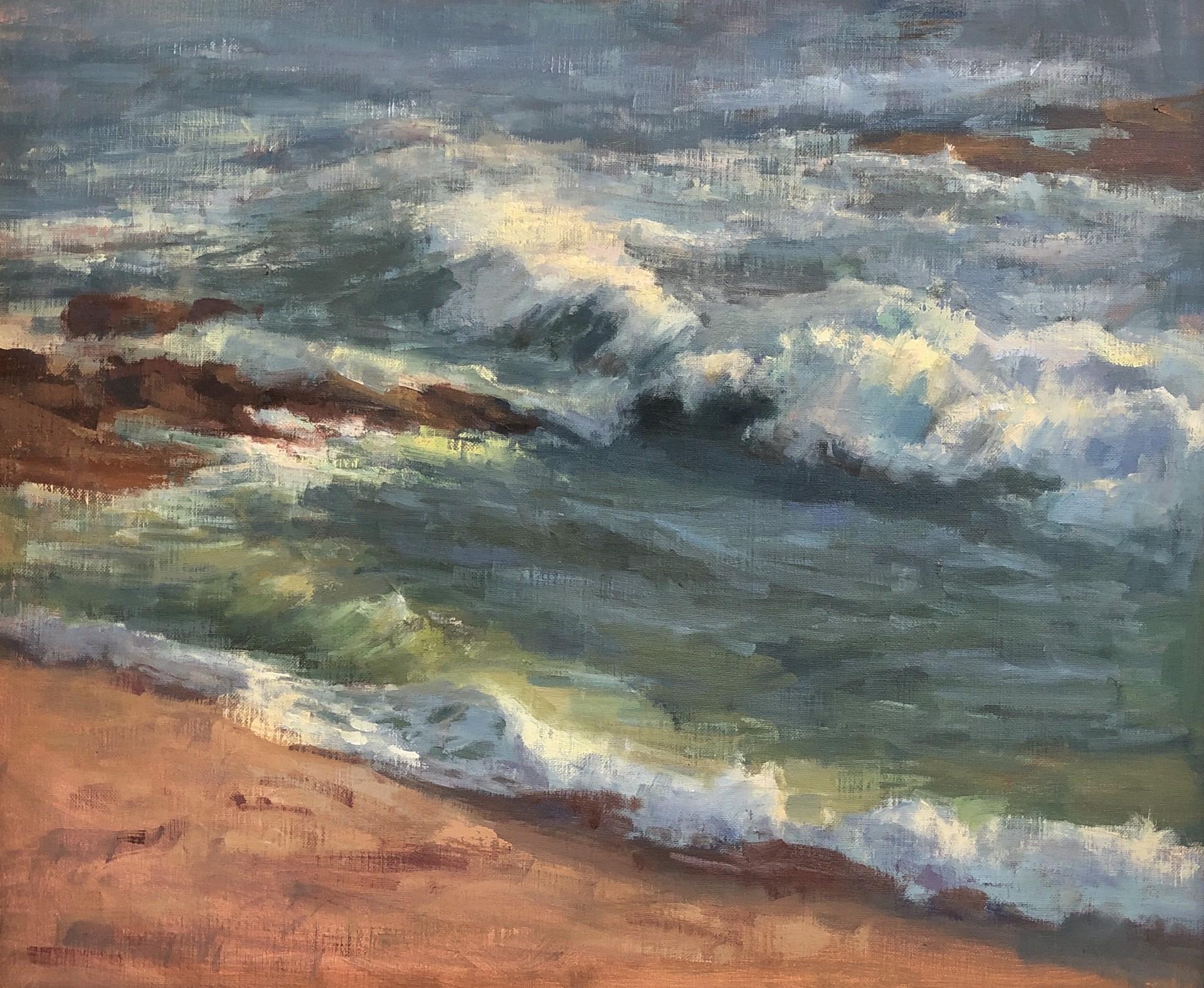 Coastal Afternoon by Karen Leoni