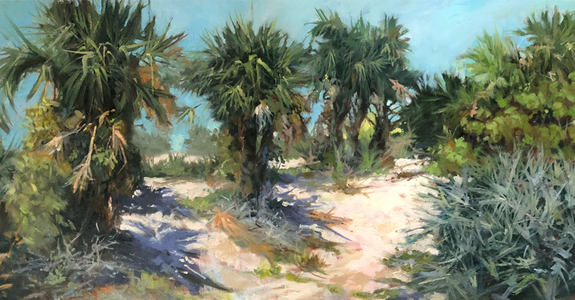 Dune Palms by Lynne Polley