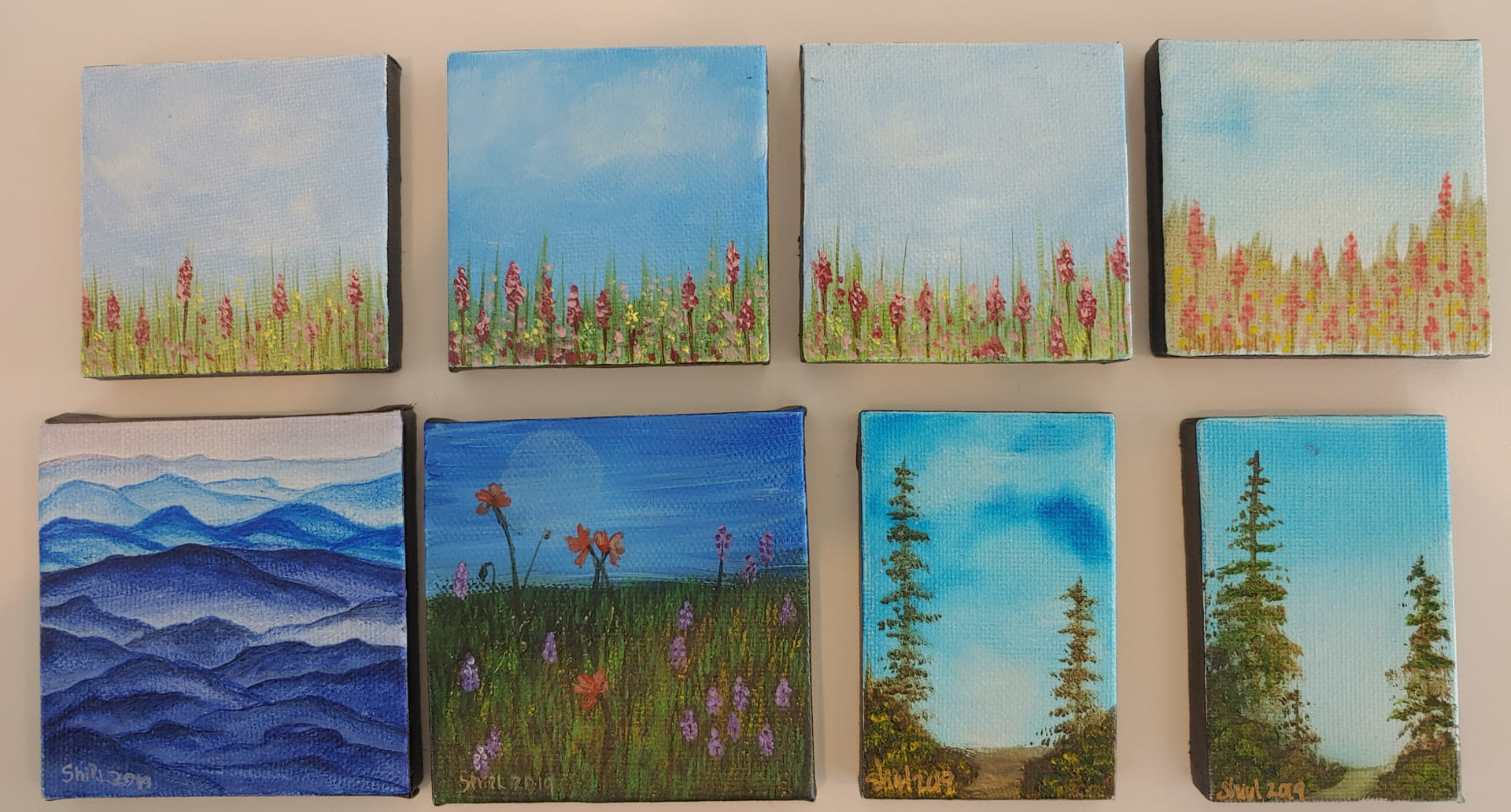 Miniatures by Shirley Hays (Yamhill, OR)