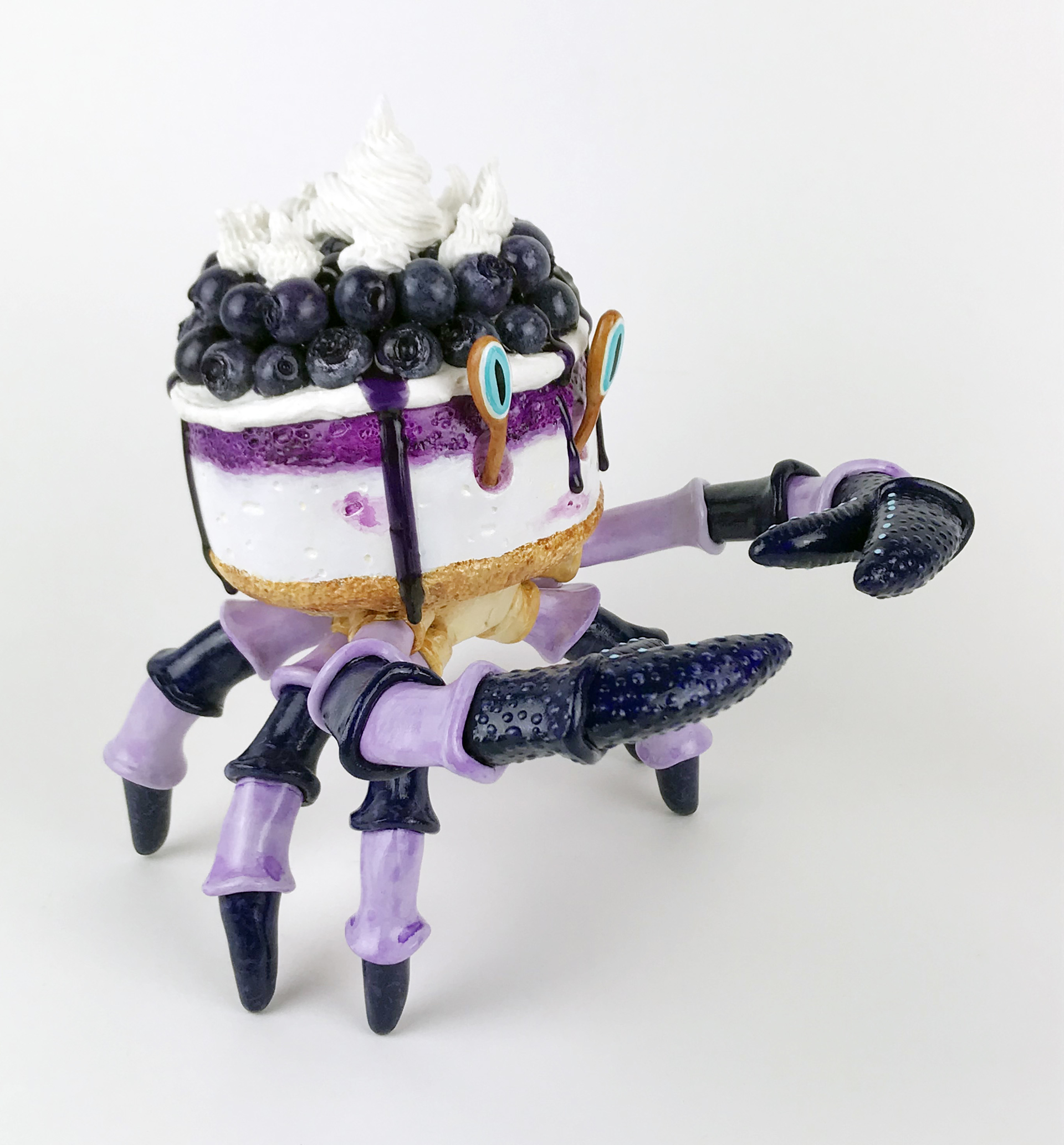 Blueberry Cheese Crabcake by Corina St. Martin