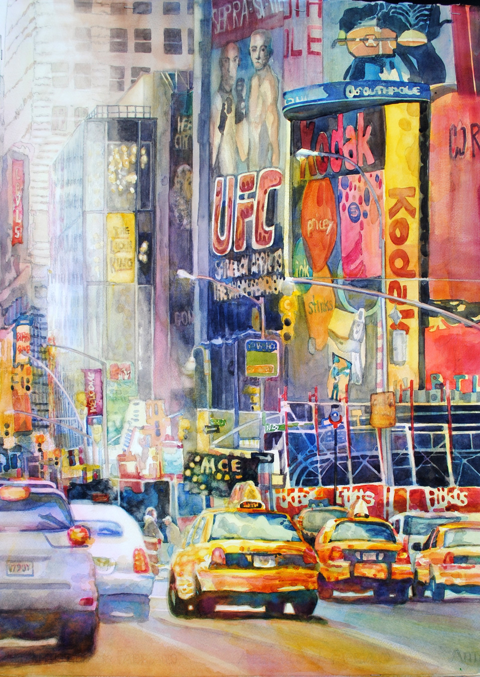City Morning by Catherine Hillis