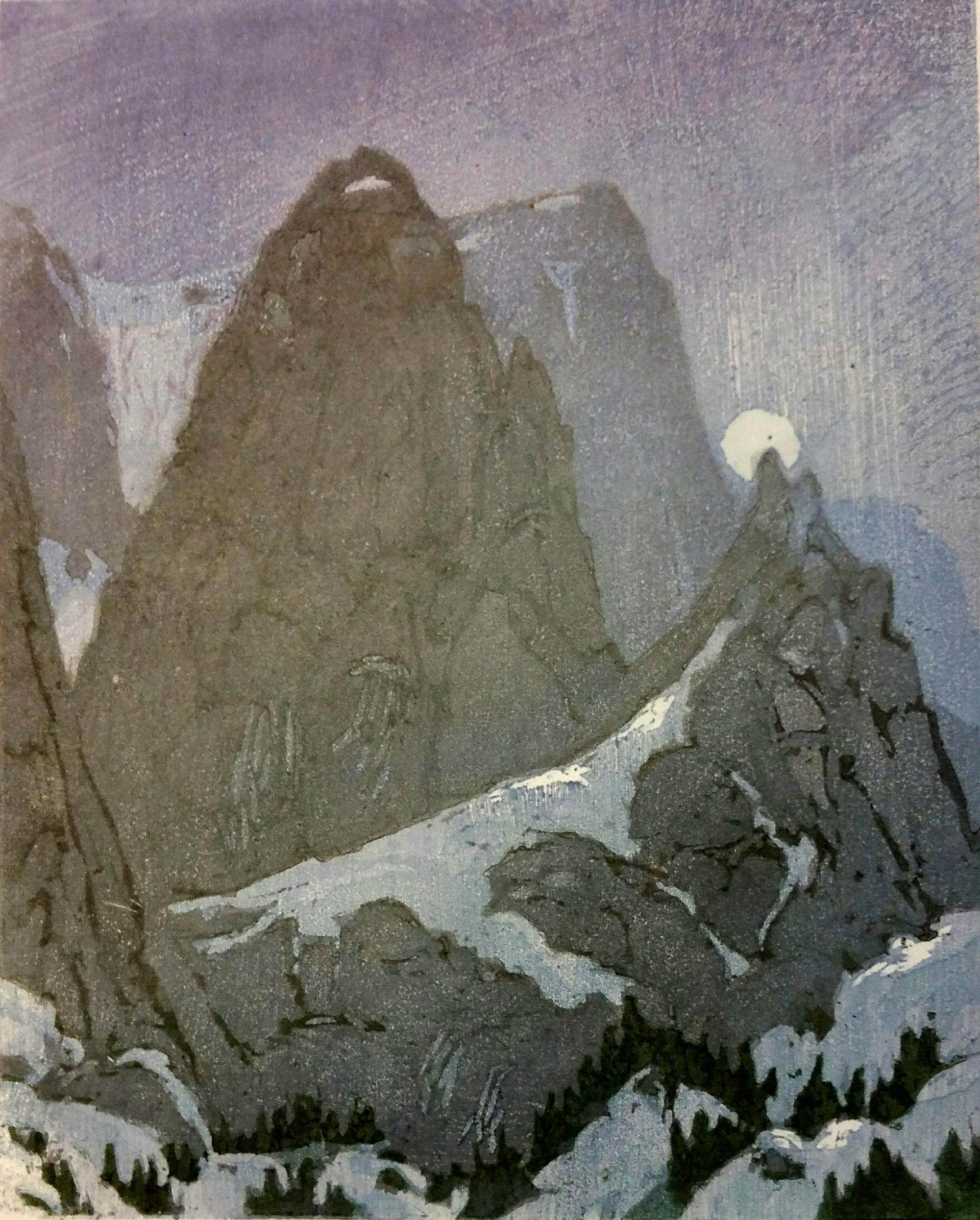 Peak Nocturn by Leon Loughridge